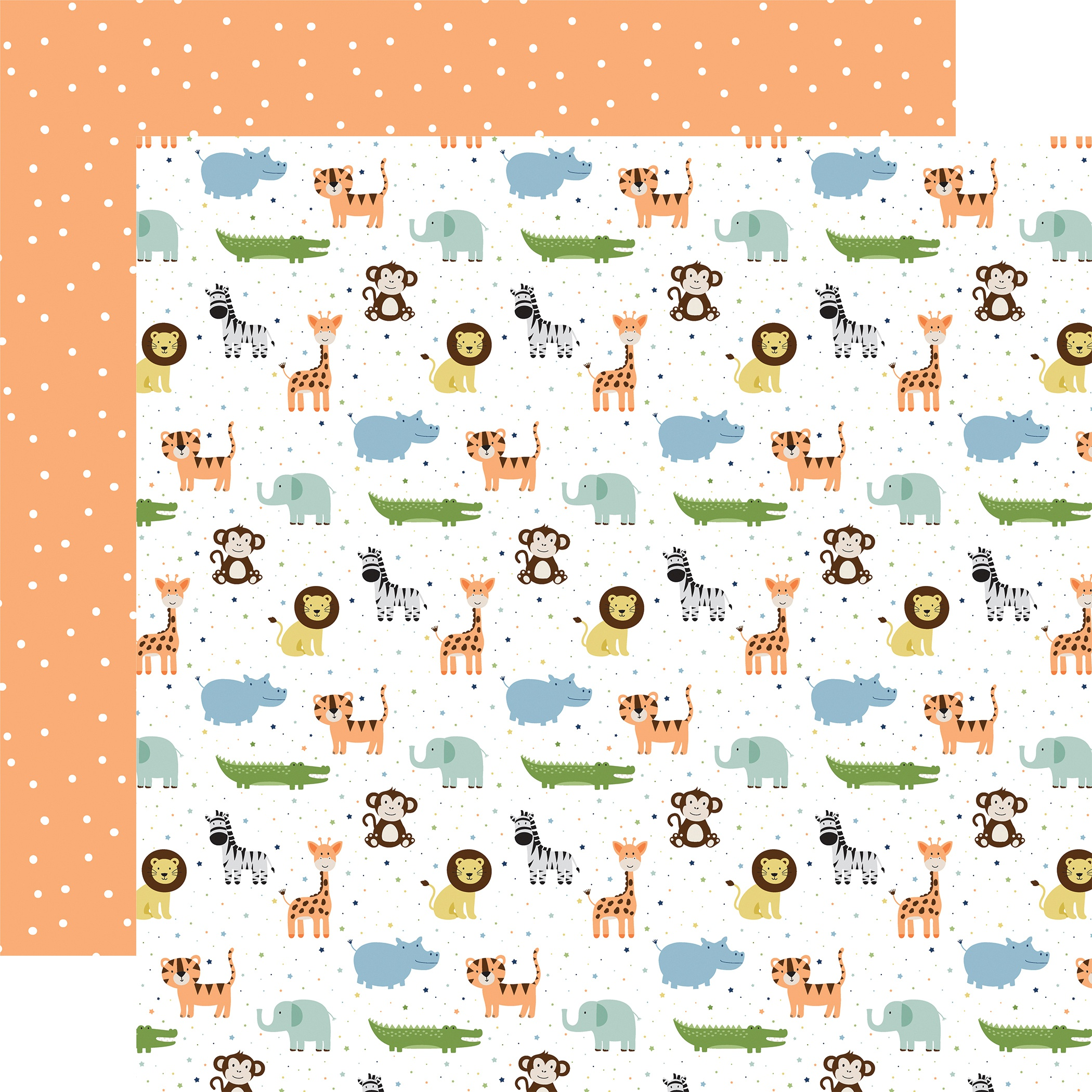Baby Boy Double-Sided Cardstock 12X12-Bundle Of Joy