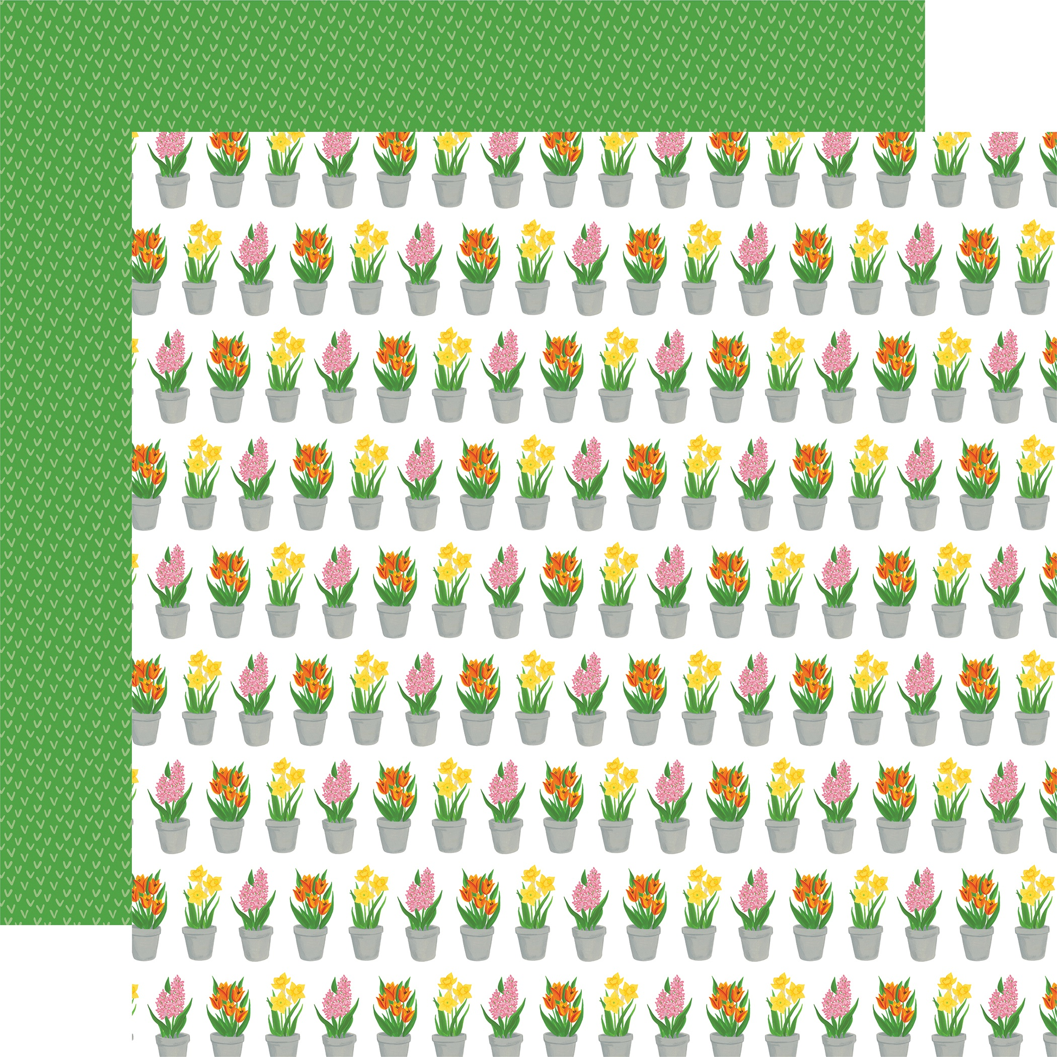 I Love Spring Double-Sided Cardstock 12X12-Greenhouse Gifts