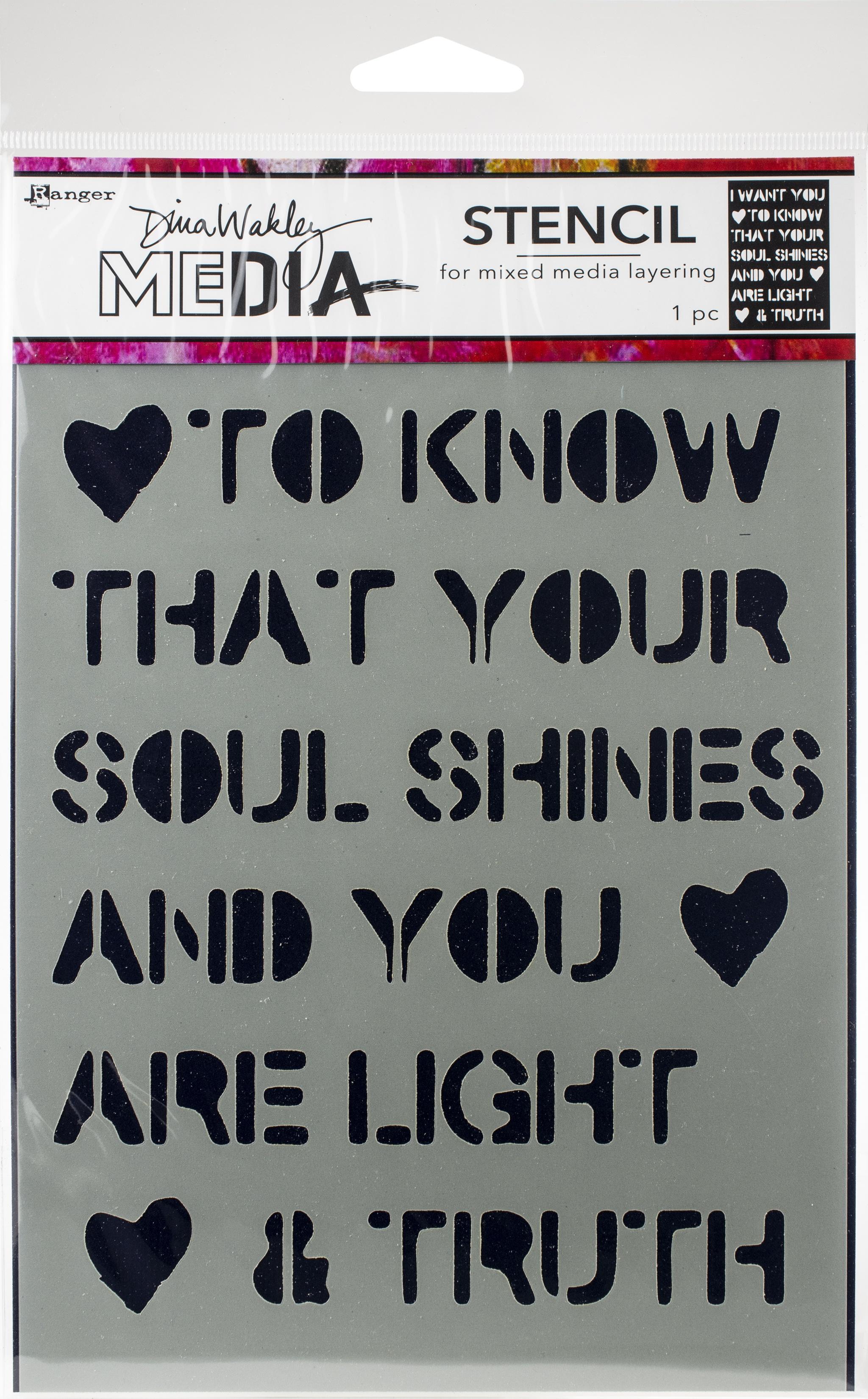 DW Stencil - Soul Shines