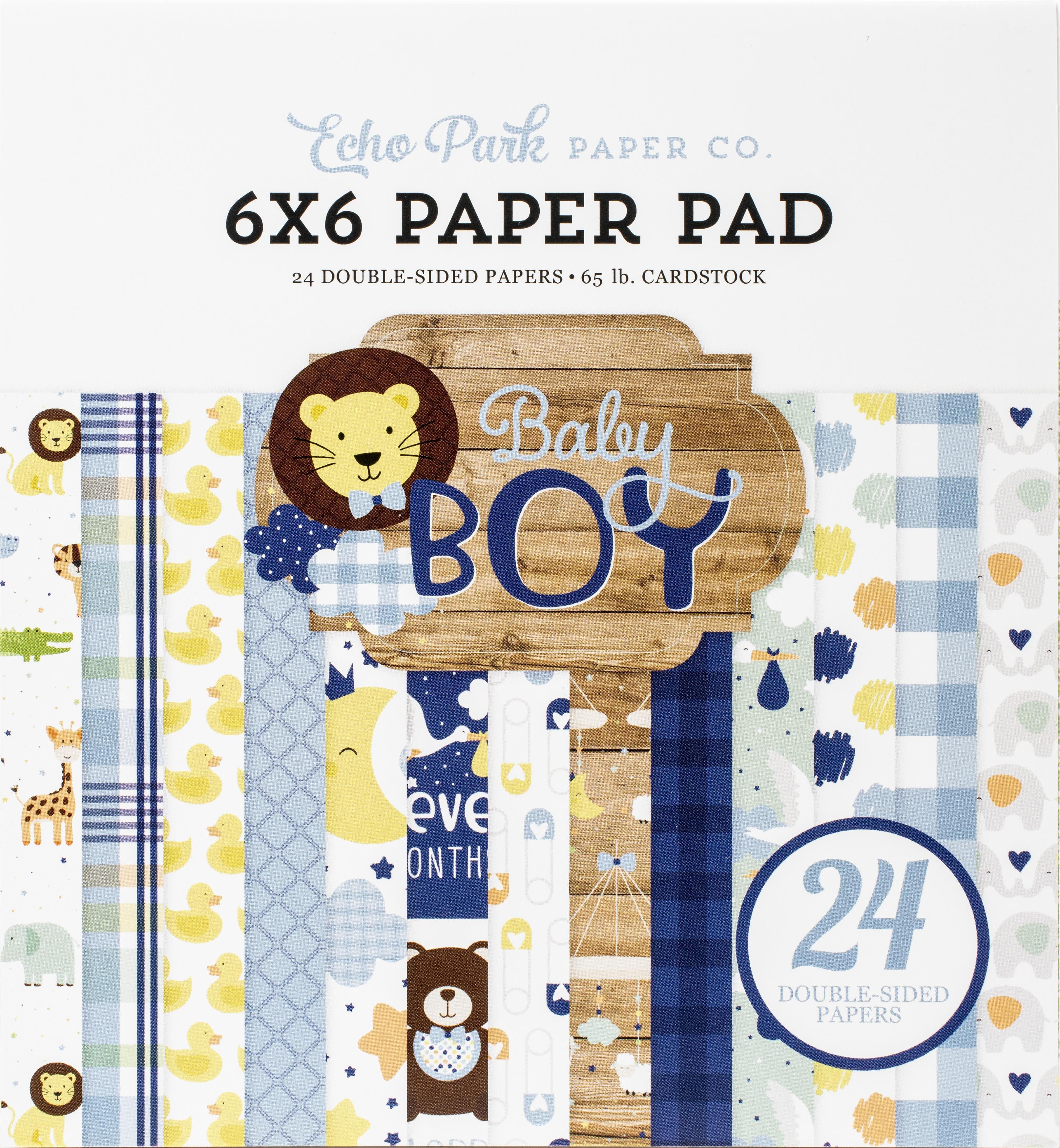 Echo Park Baby Boy - 6x6 Paper Pad