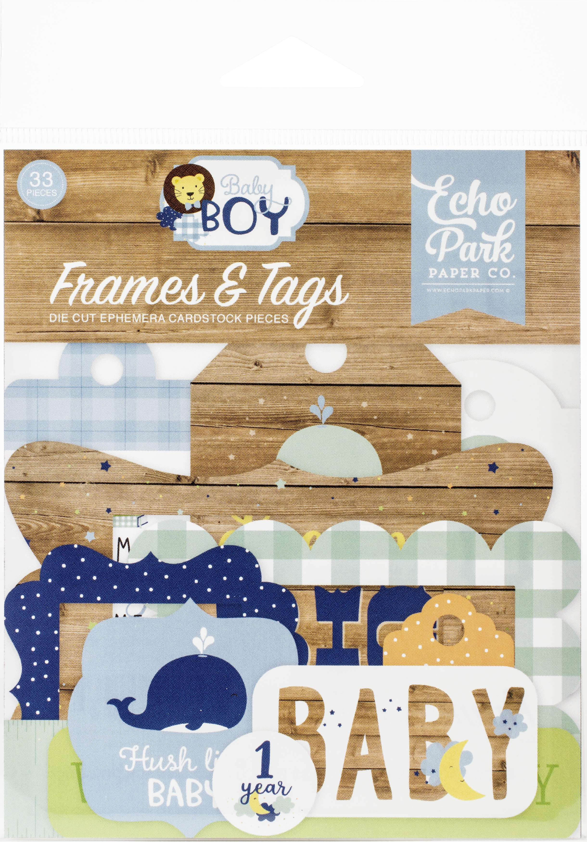 Echo Park Baby Boy - Frames & Tags