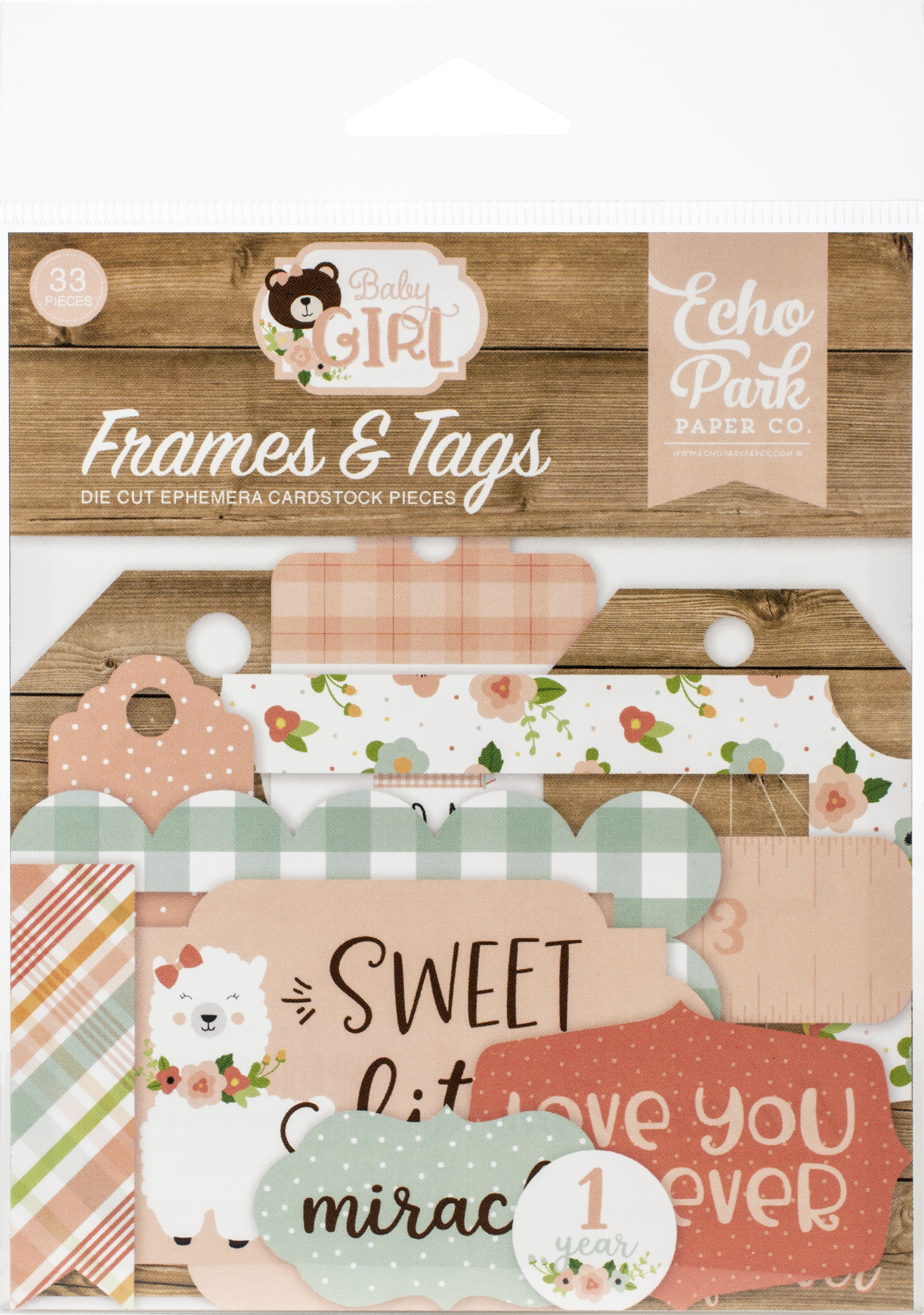 Baby Girl - Frames & Tags