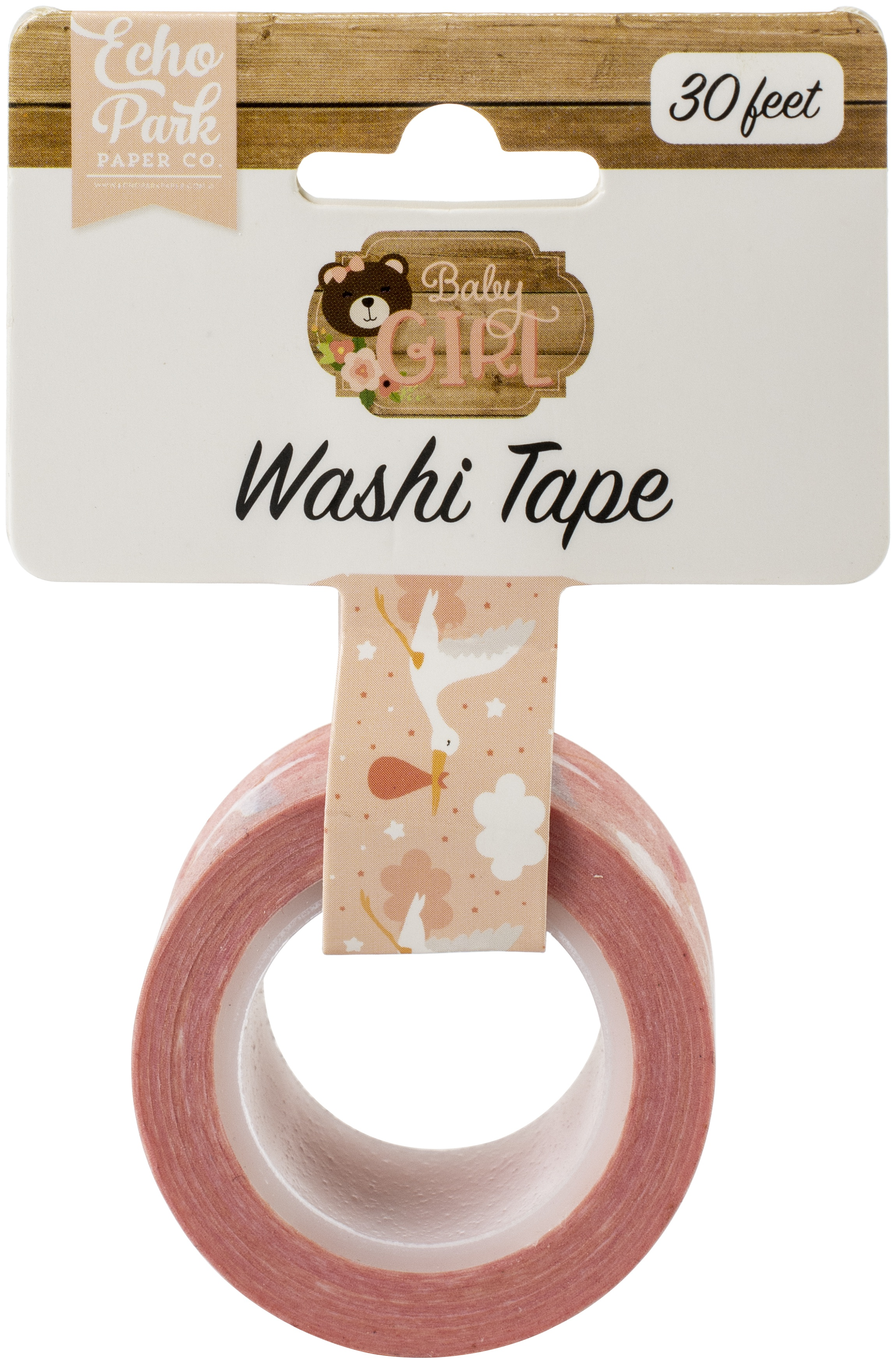 Baby Girl - Stork Washi Tape