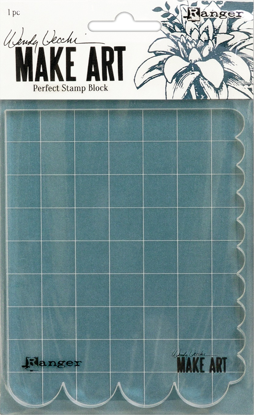 Wendy Vechhi Make Art Perfect Stamp Block-