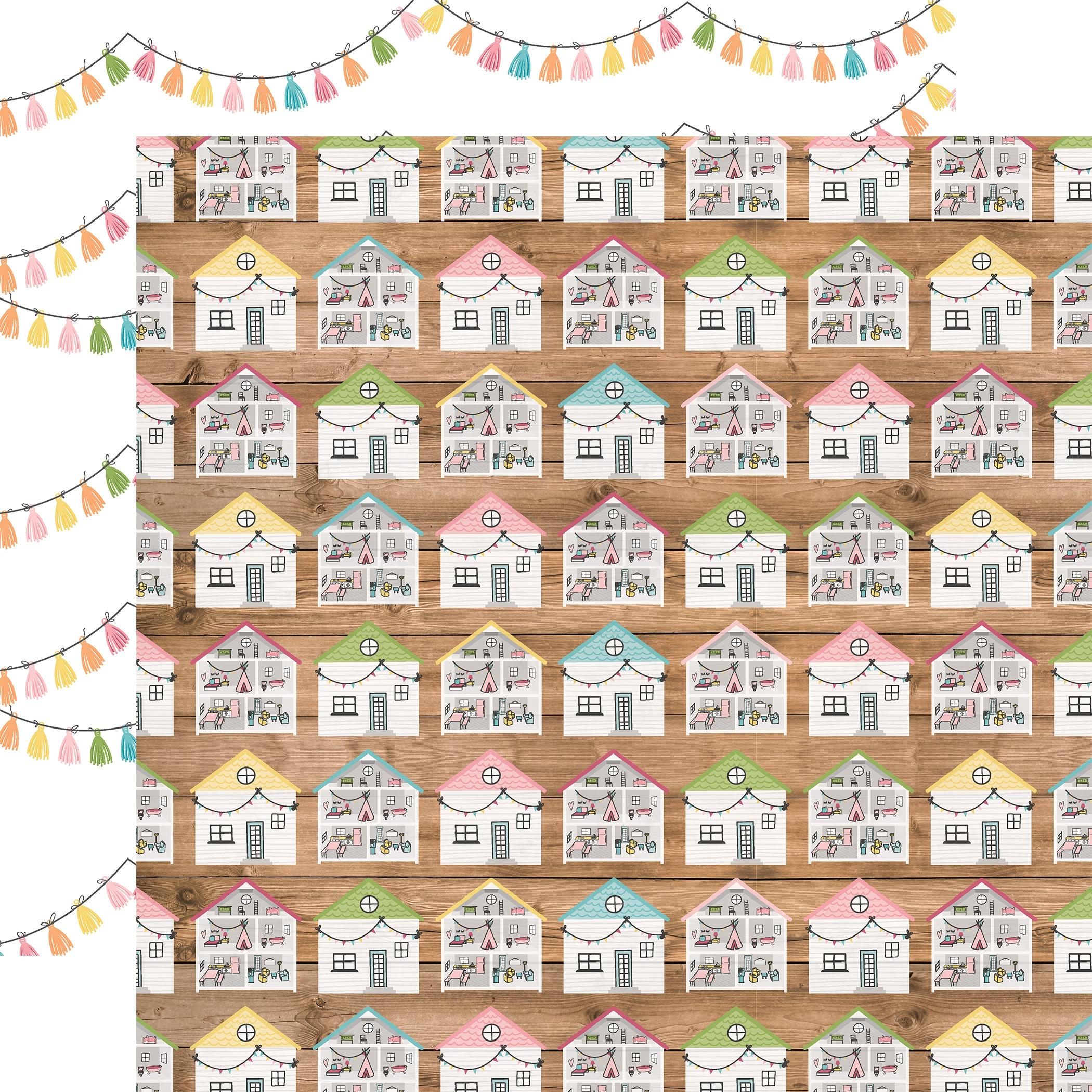 All Girl Double-Sided Cardstock 12X12-Dollhouse Dreams