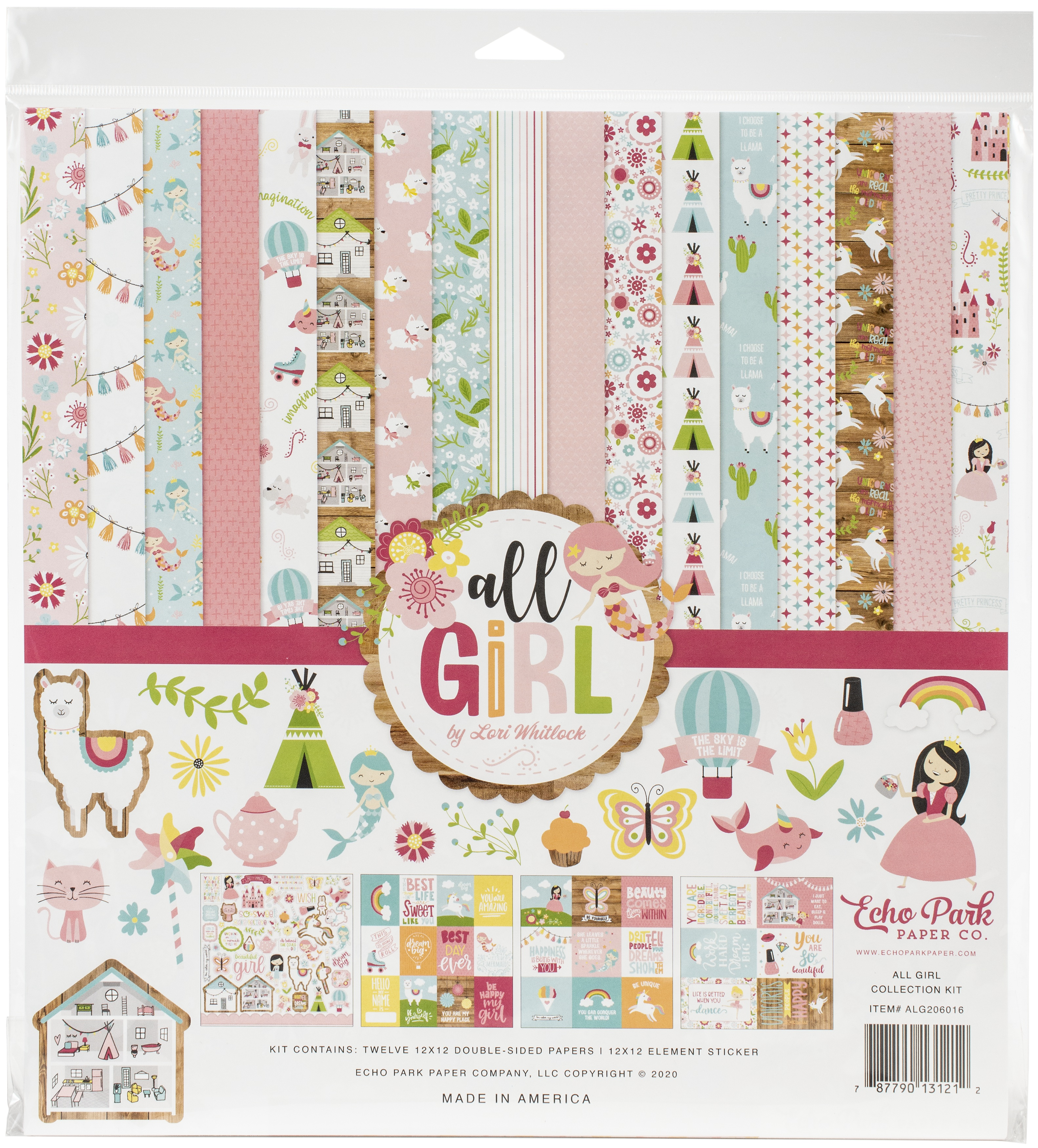 Echo Park Collection Kit 12X12-All Girl
