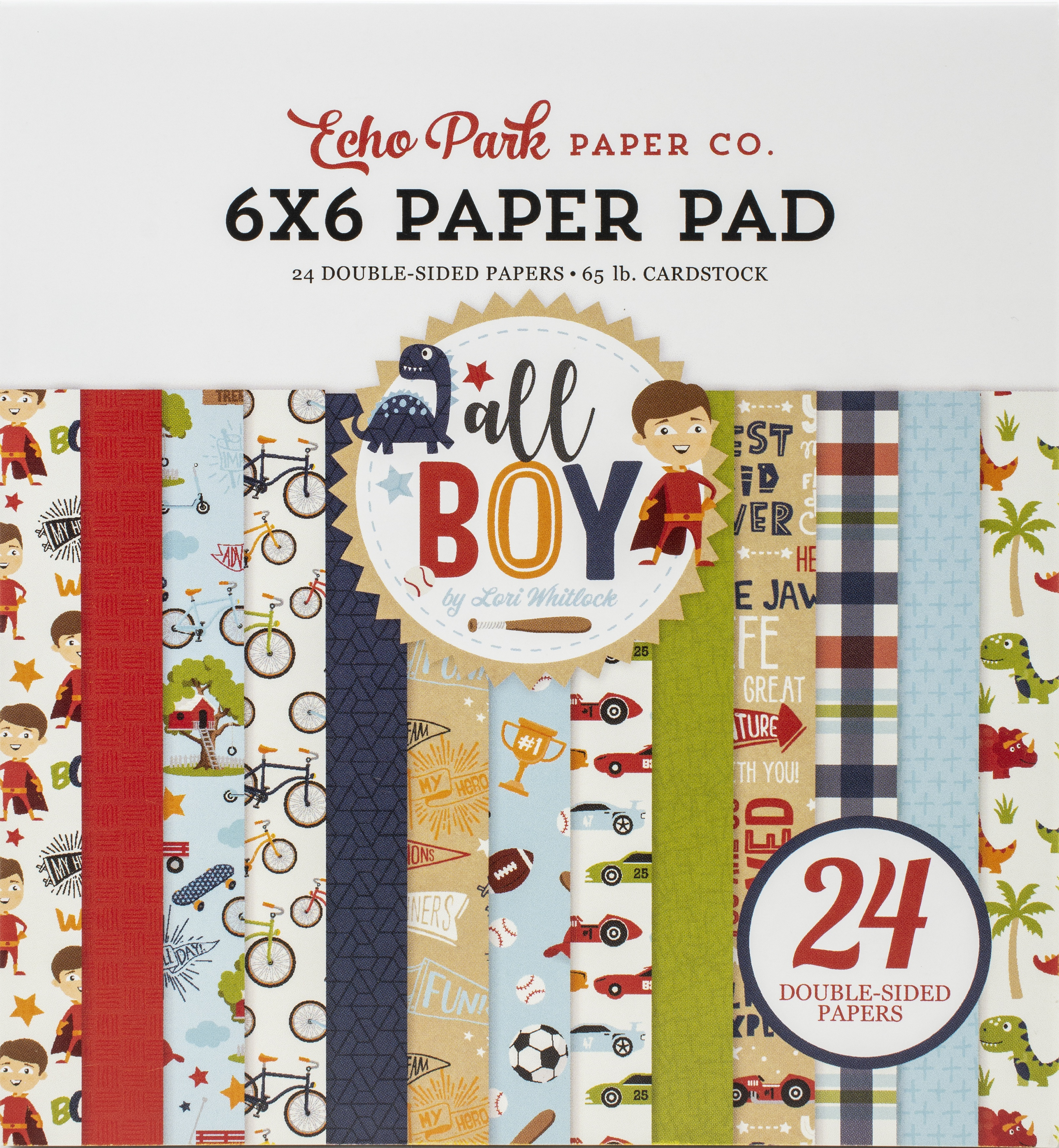 All Boy Paper Pad 6X6