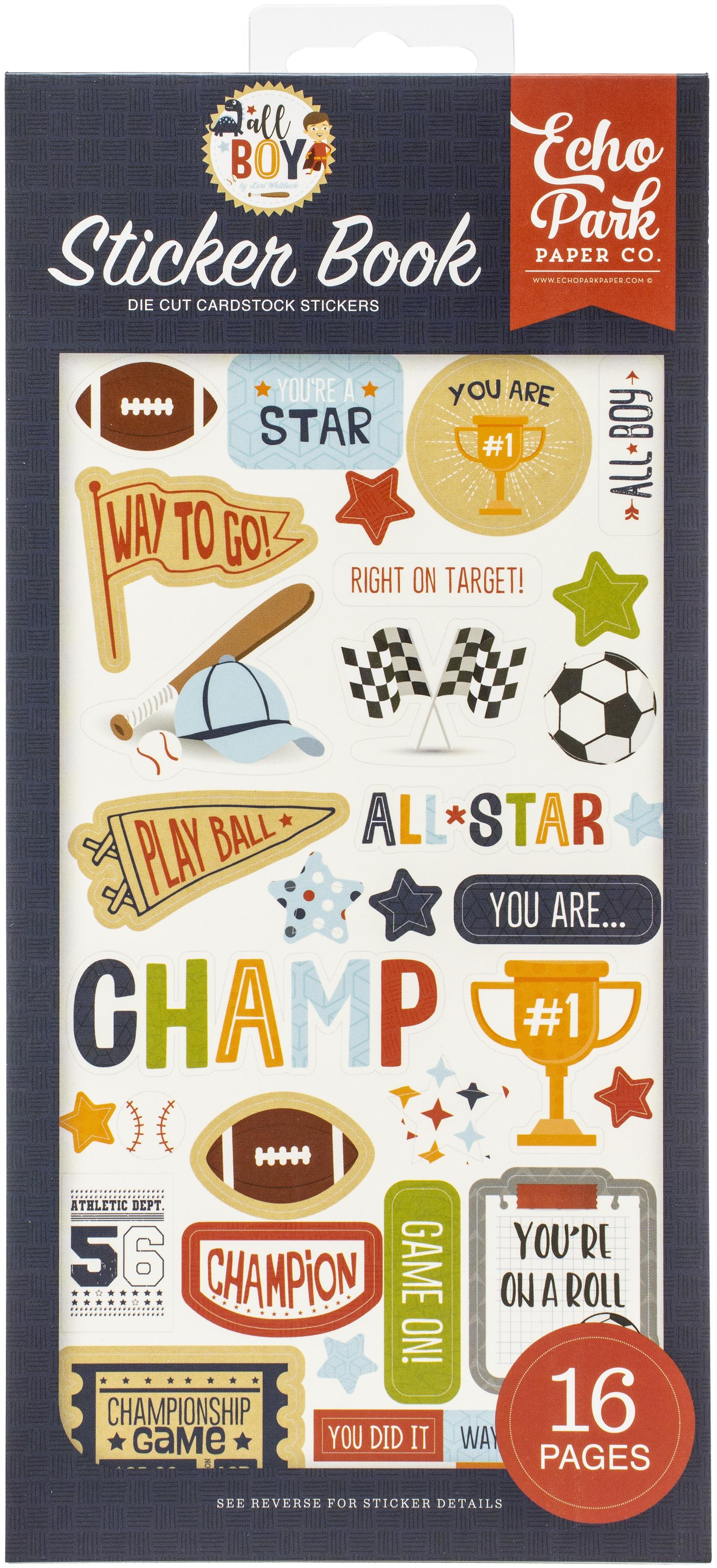All Boy Sticker Book