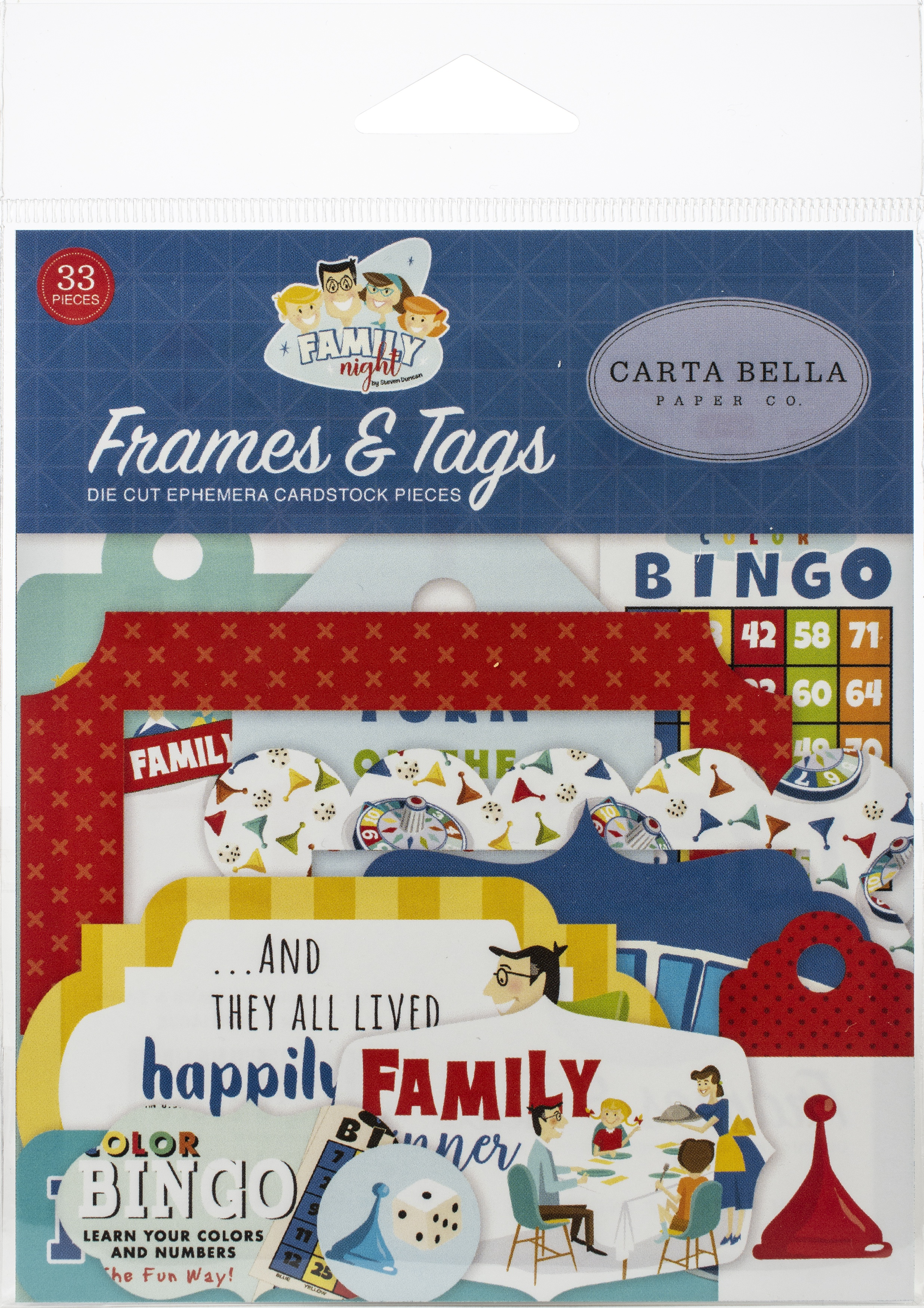 Family Night - Frames & Tags