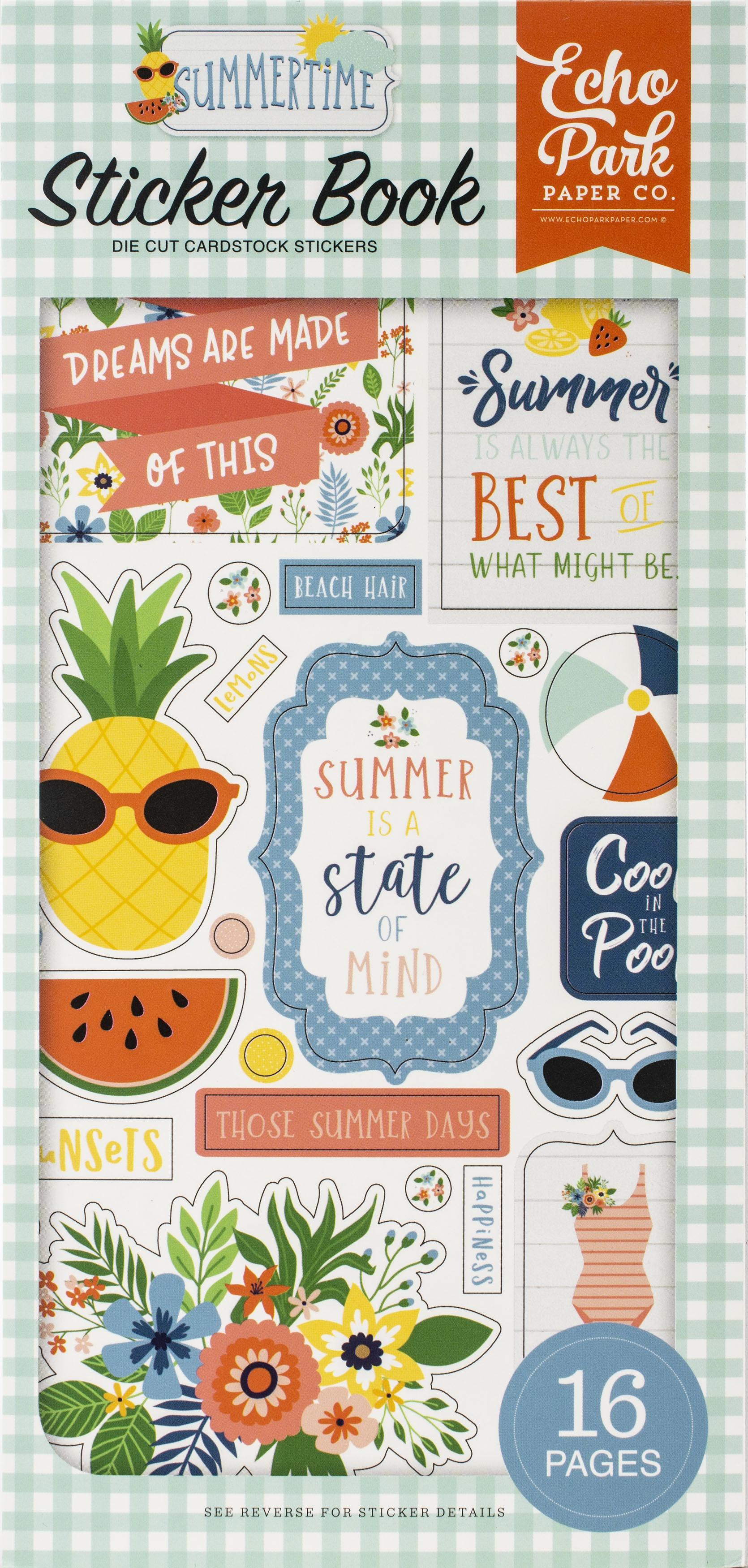 Echo Park Sticker Book-Summertime