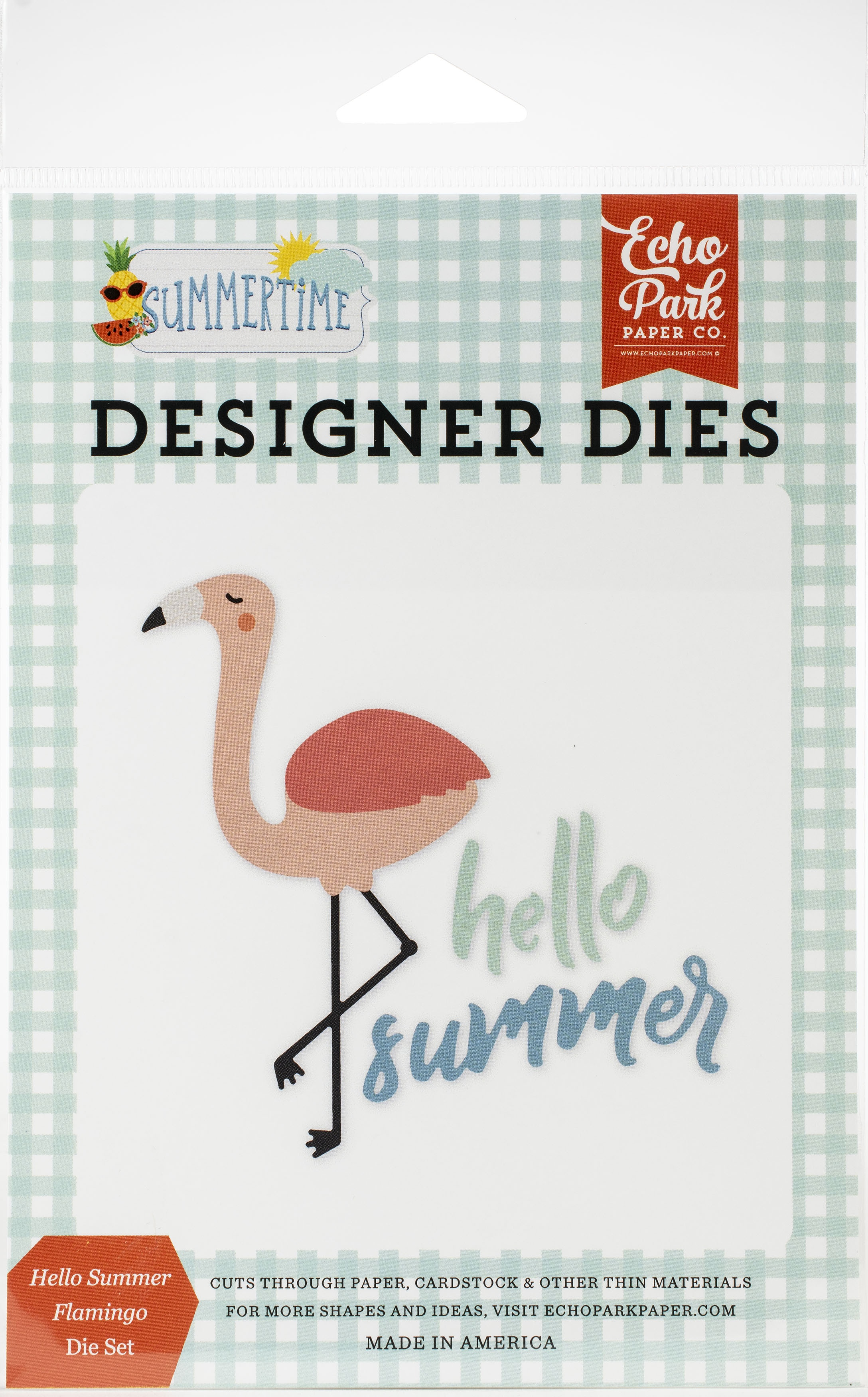Echo Park Dies-Hello Summer Flamingo, Summertime
