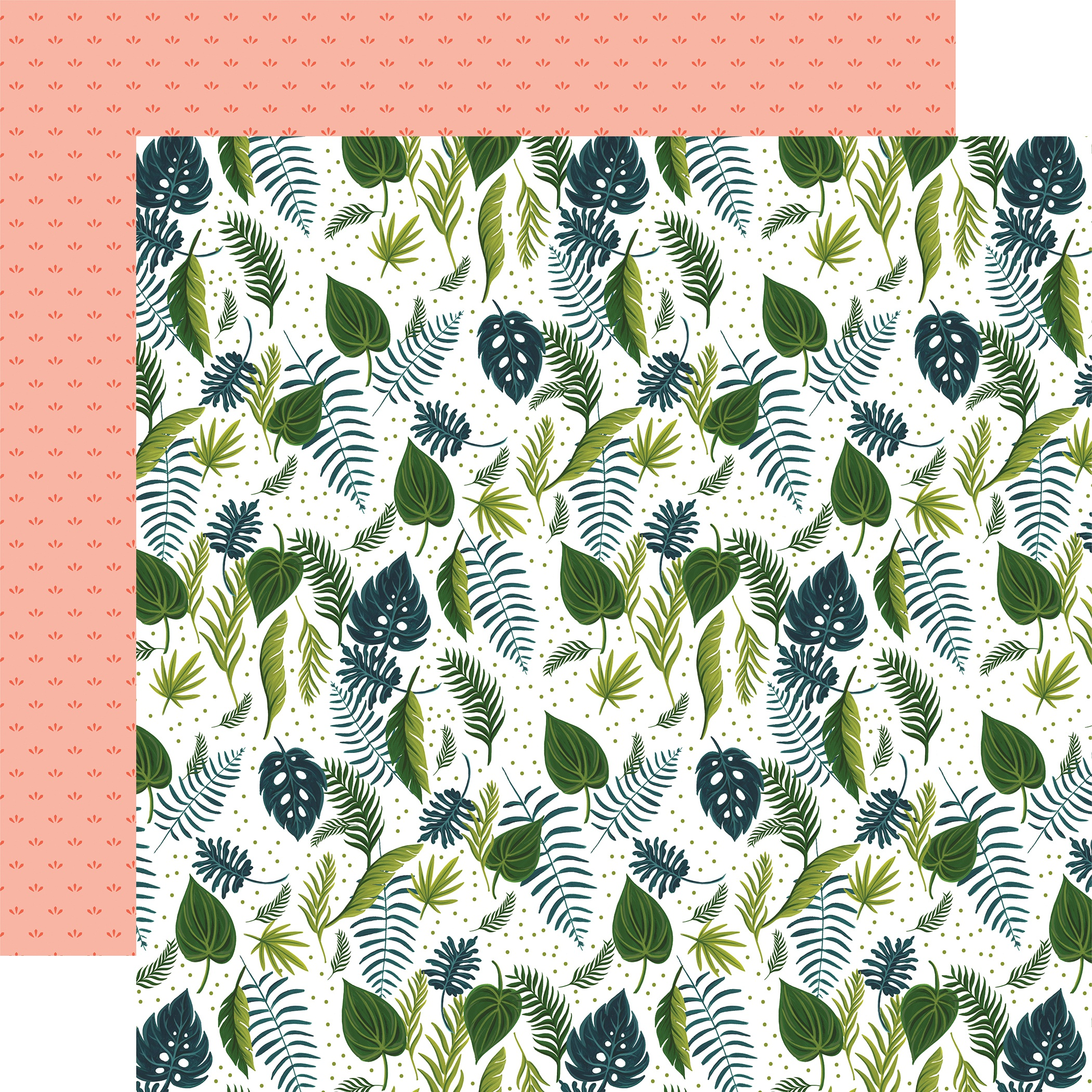 Plant Lady Double-Sided Cardstock 12X12-Leaves