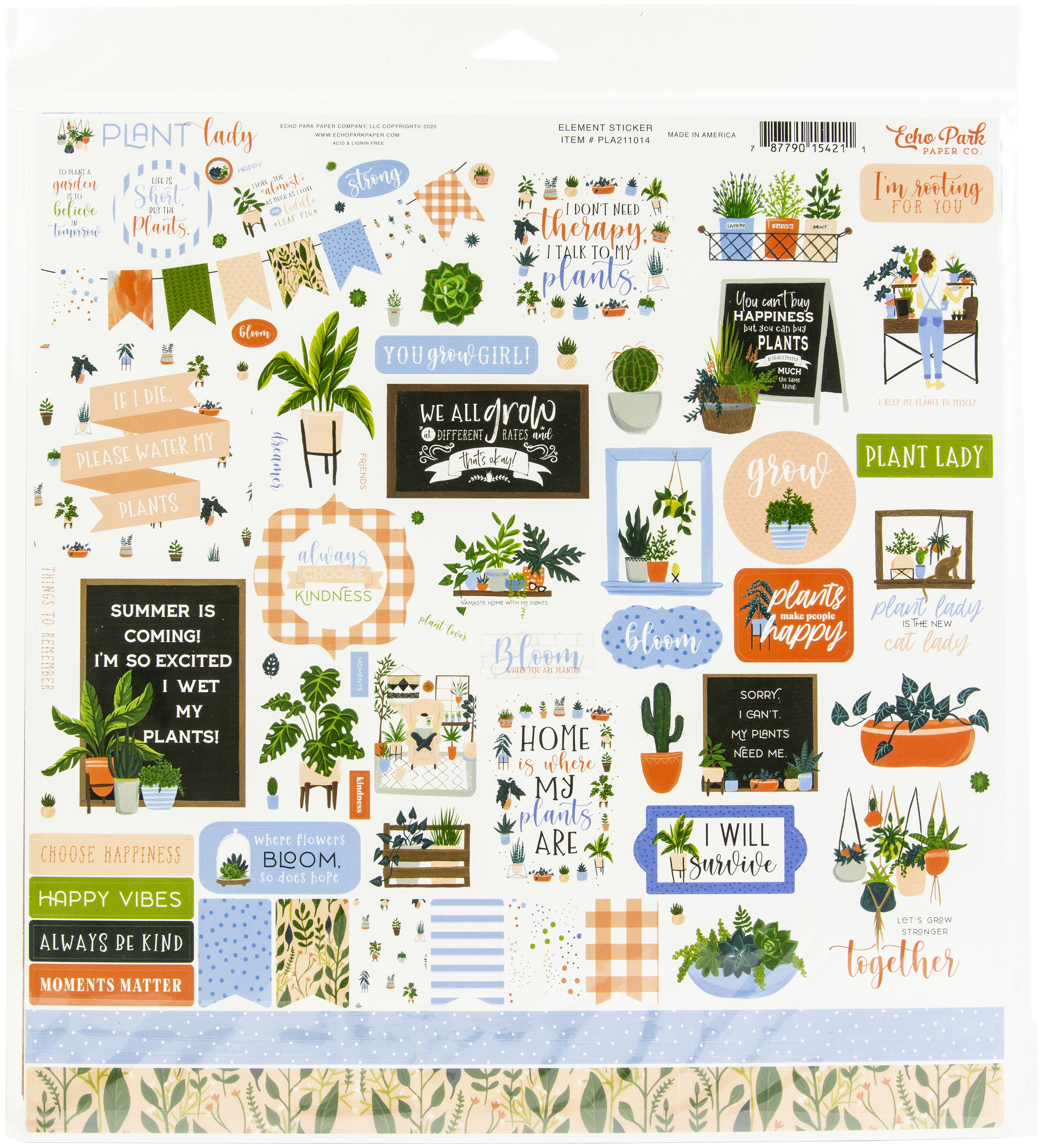Echo Park Collection Kit 12X12-Plant Lady