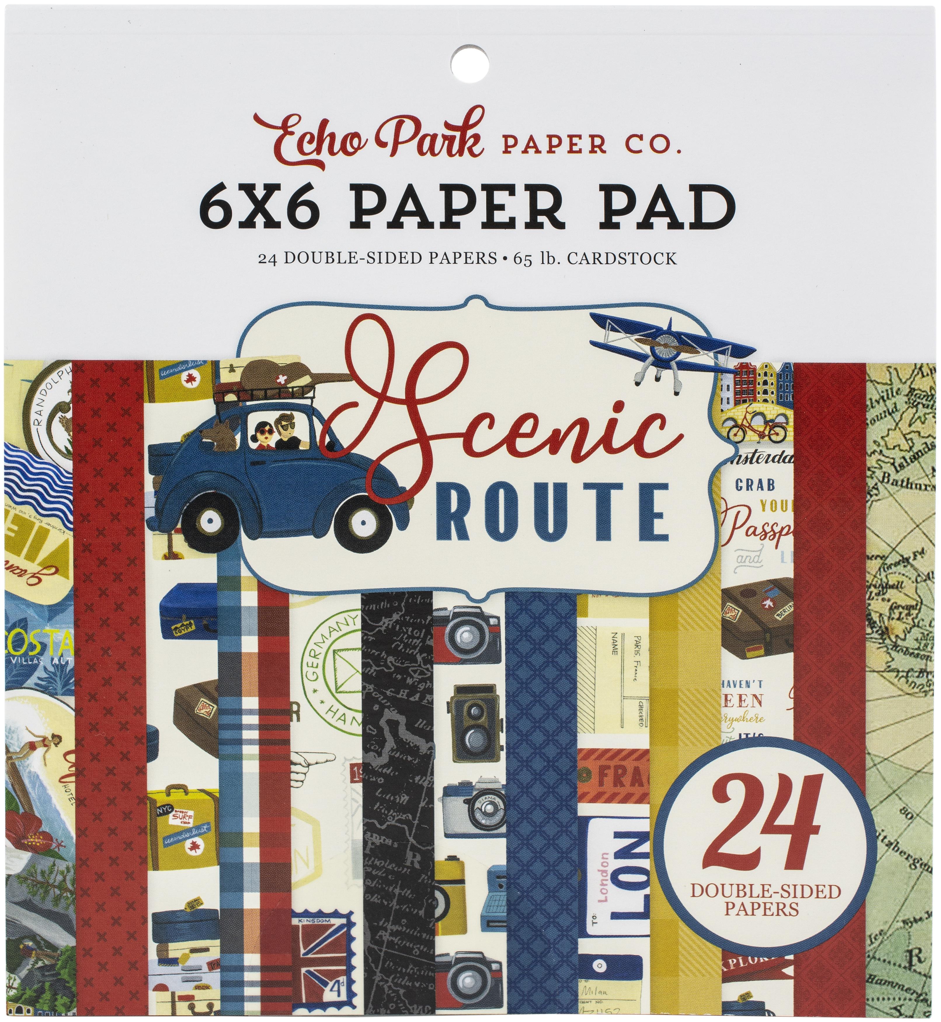 Scenic Route 6x6 pad