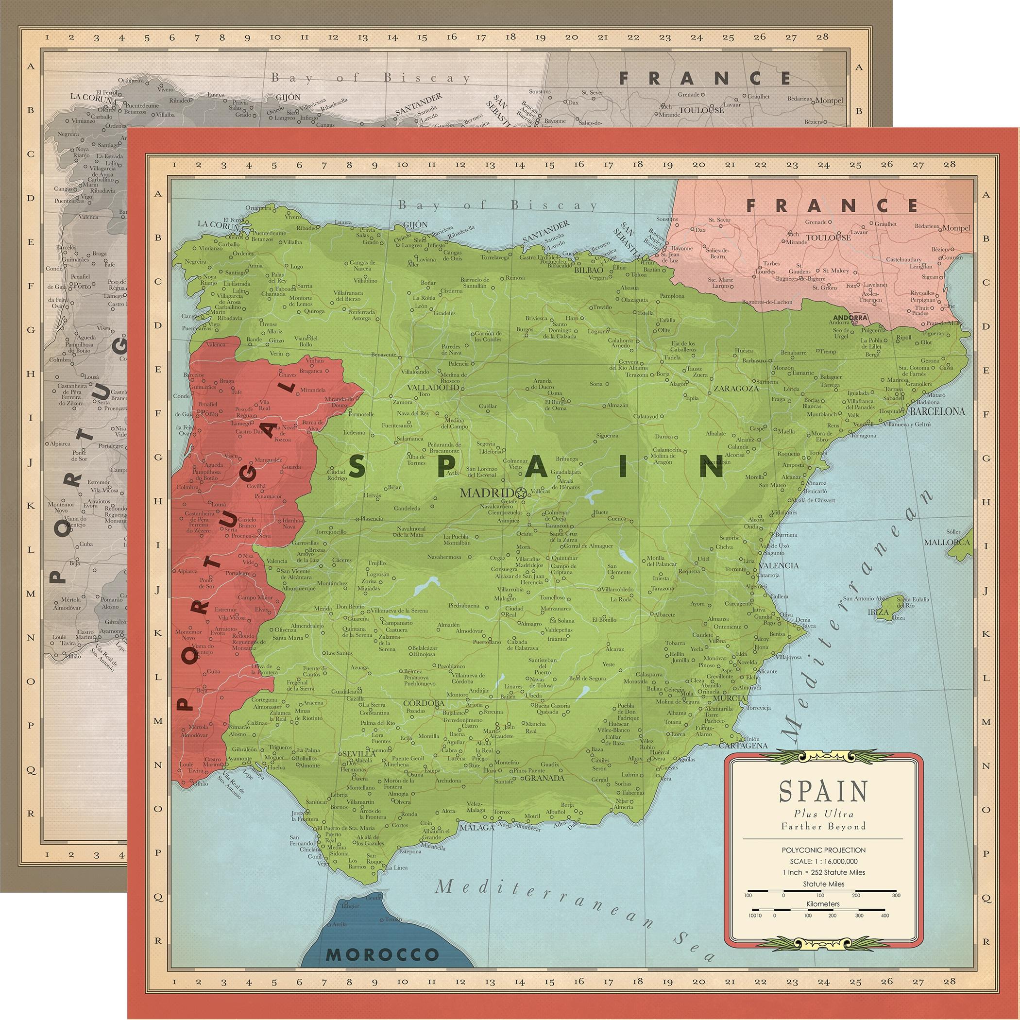 Cartography No 2 SPAIN