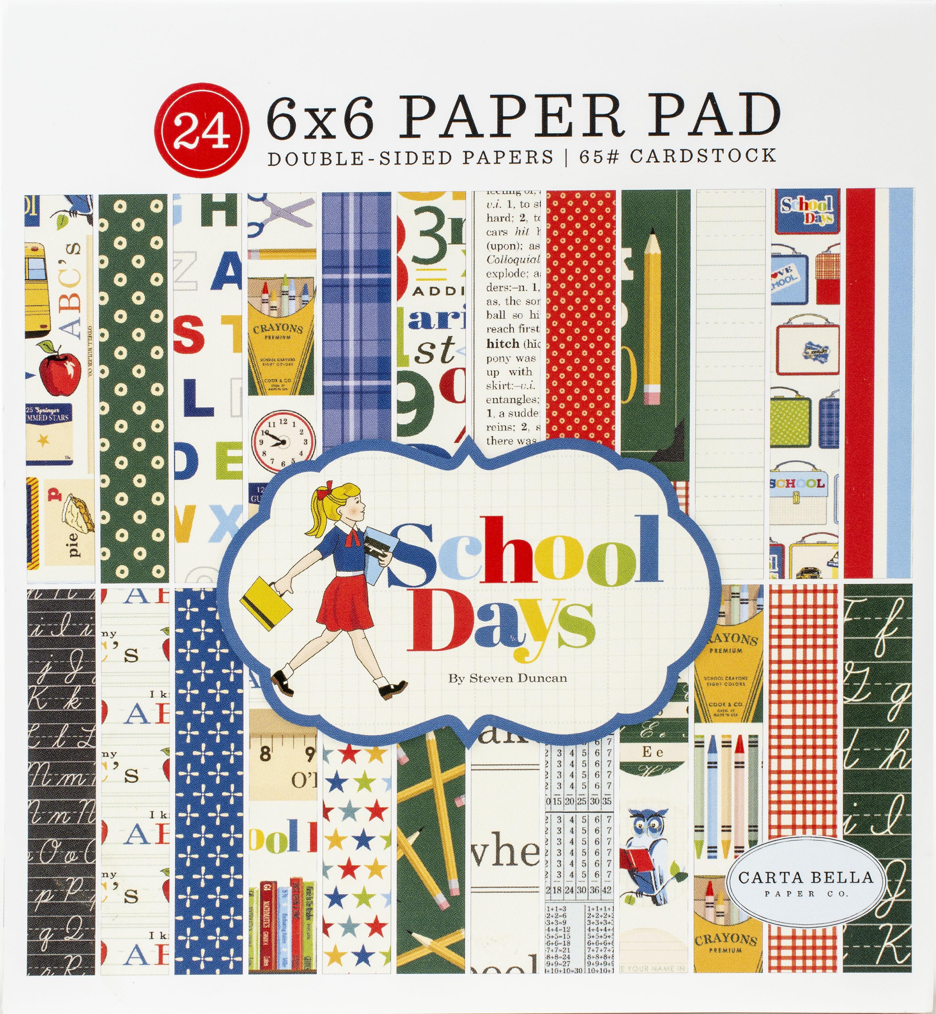 CB School Days 6x6 pad