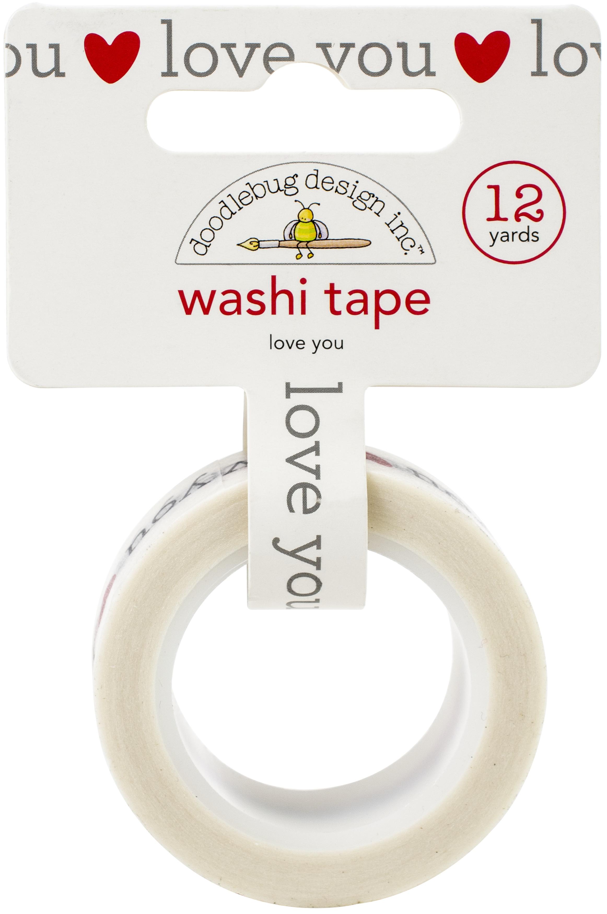 DB Washi Tape Love You