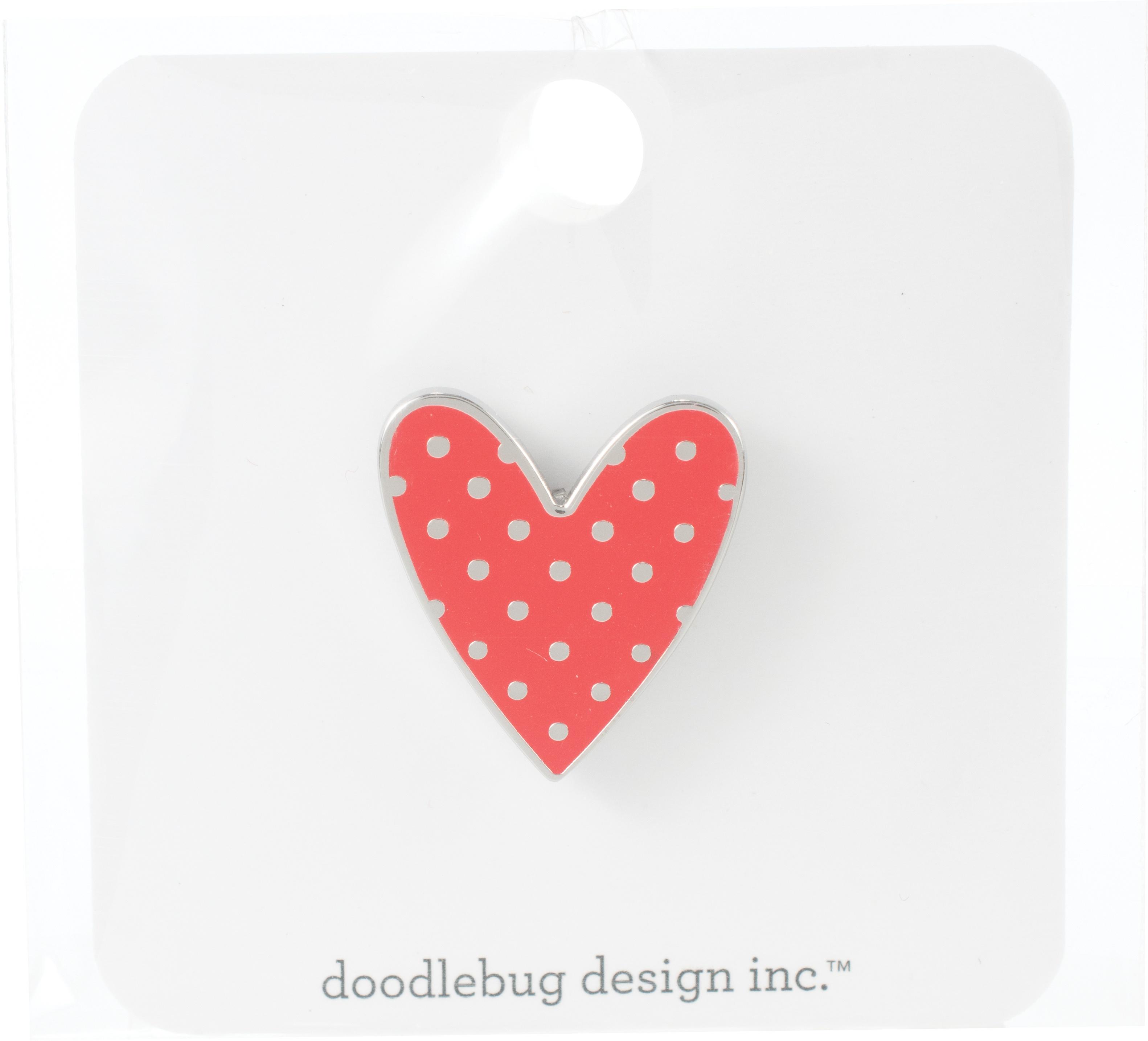 Sweetheart, Love Notes Enamel Pin