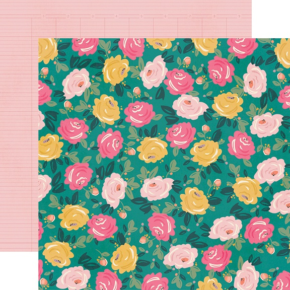 I Am Double-Sided Cardstock 12X12-Blooming