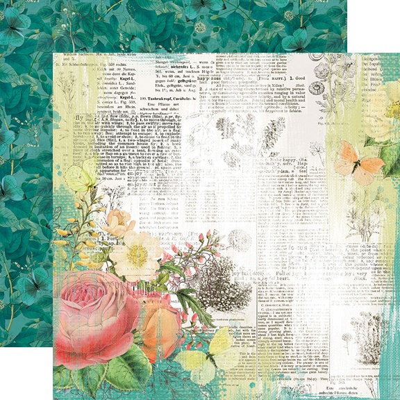 Simple Vintage Garden District Double-Sided Cardstock 12-Live For Today