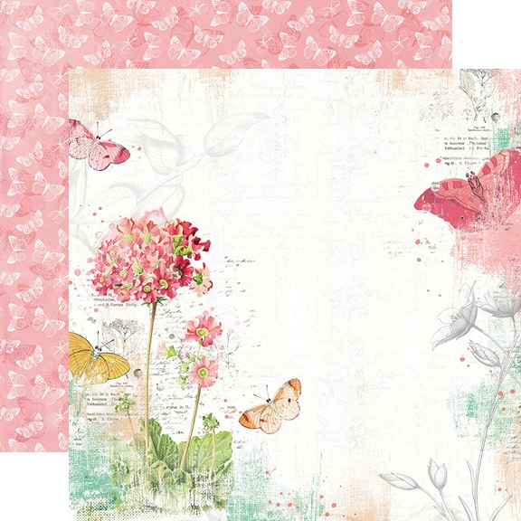 Simple Vintage Garden District Double-Sided Cardstock 12-Never Stop Dreaming
