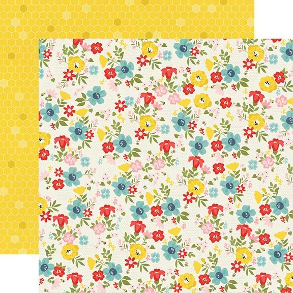 Summer Farmhouse Double-Sided Cardstock 12X12-Sunny Day