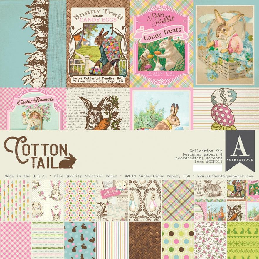 Authentique Collection Kit 12X12-Cottontail