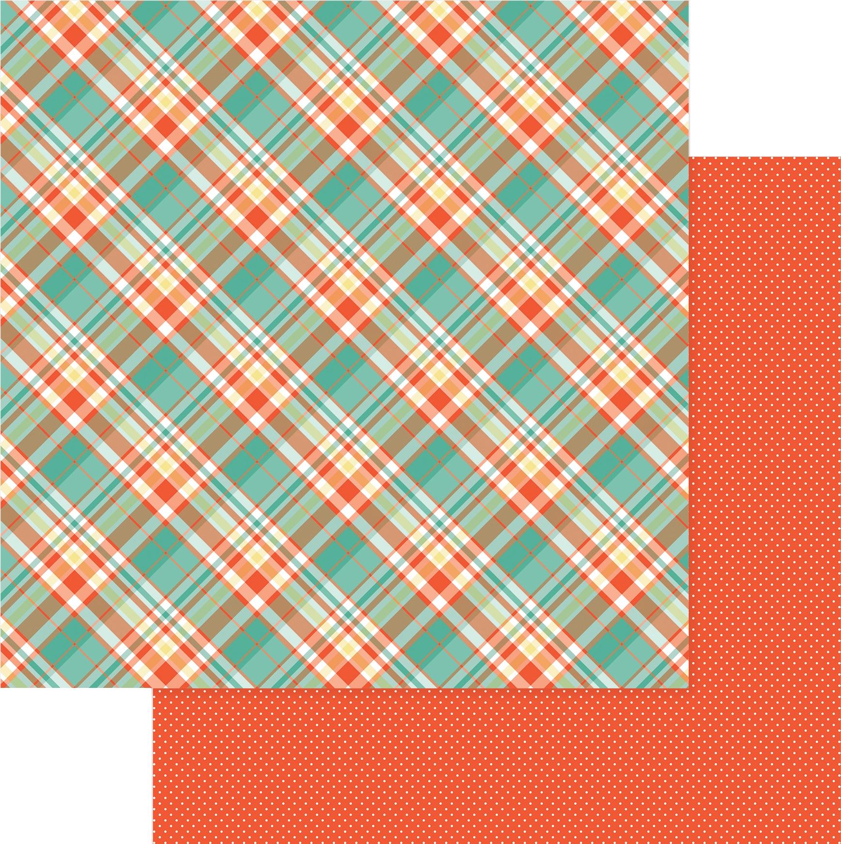 Tulla & Norbert Double-Sided Cardstock 12X12-Hi Ho Hi Ho