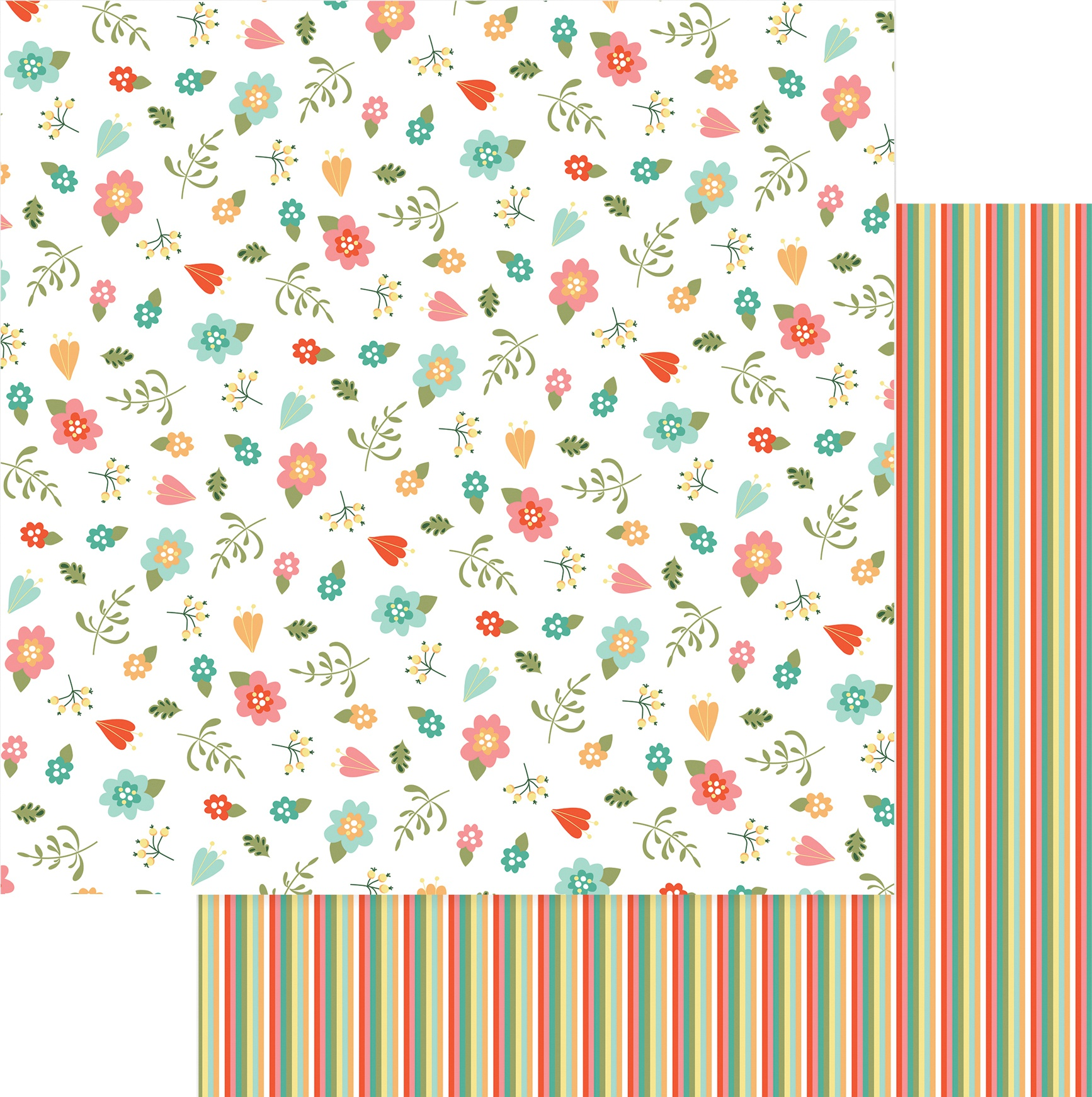 Tulla & Norbert Double-Sided Cardstock 12X12-I Love Gnomes