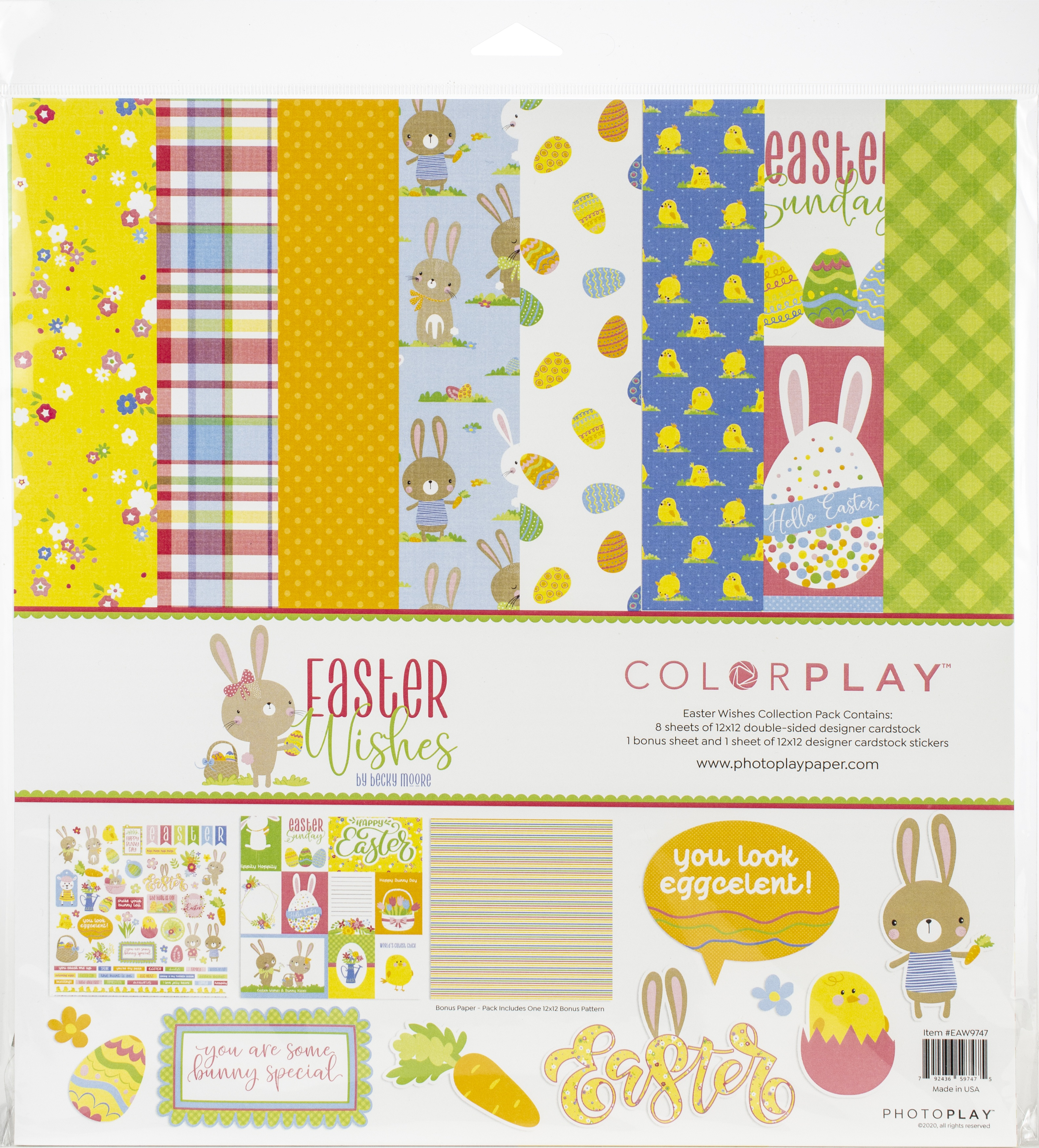 ColorPlay Collection Pack 12X12-Easter Wishes