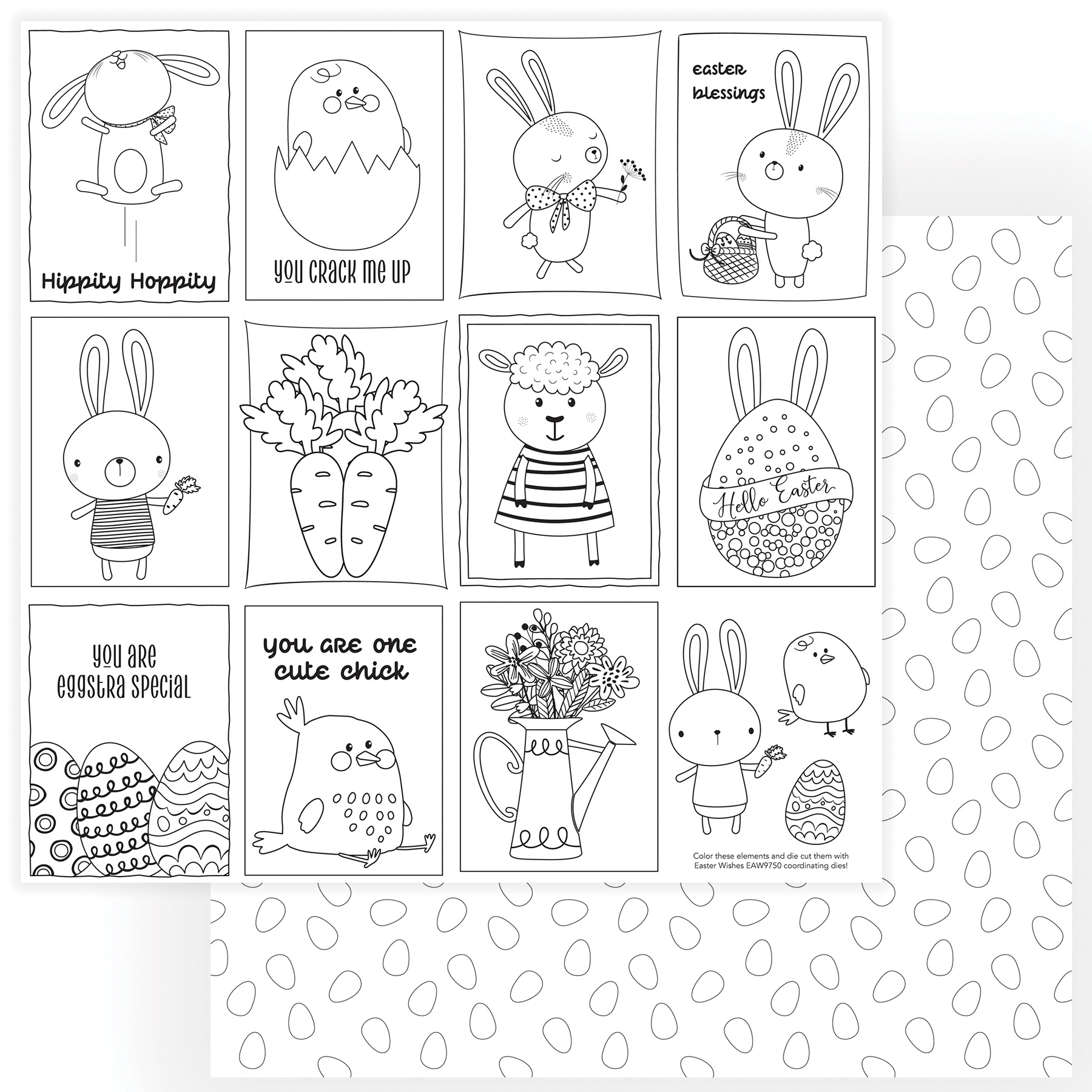 Easter Wishes Double-Sided Cardstock 12X12-Color Me