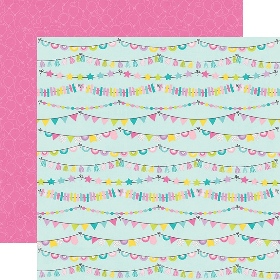 Magical Birthday Double-Sided Cardstock 12X12-Party Time