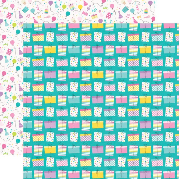 Magical Birthday Double-Sided Cardstock 12X12-Surprise!