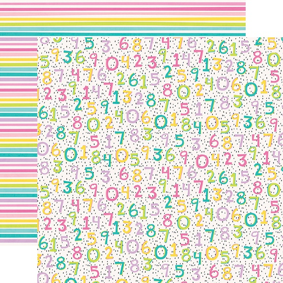 Magical Birthday Double-Sided Cardstock 12X12-One Year Older
