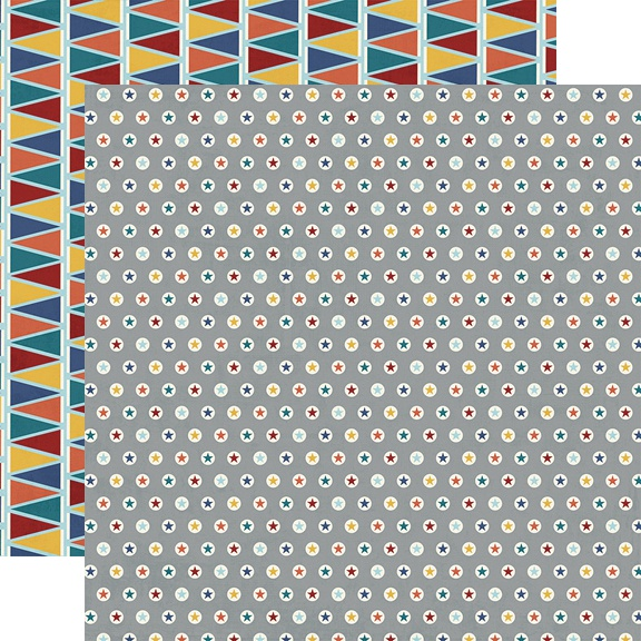 Bro & Co Collection - 12 x 12 Double Sided Paper - Level Up