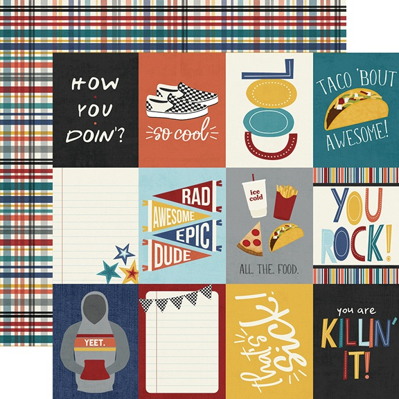 Bro & Co Patterned Paper