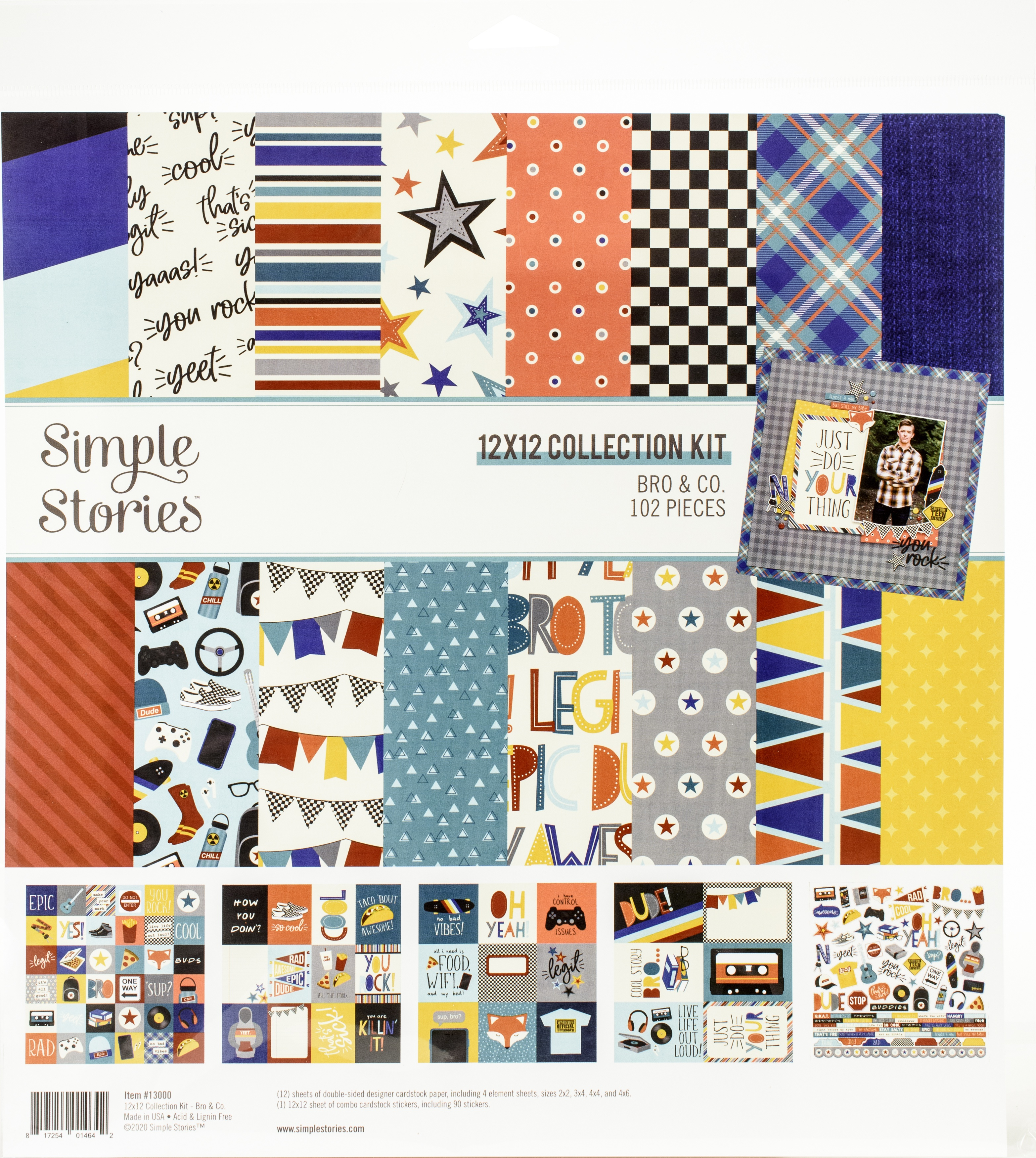 Bro & Co. Collection Kit 12X12 - Simple Stories