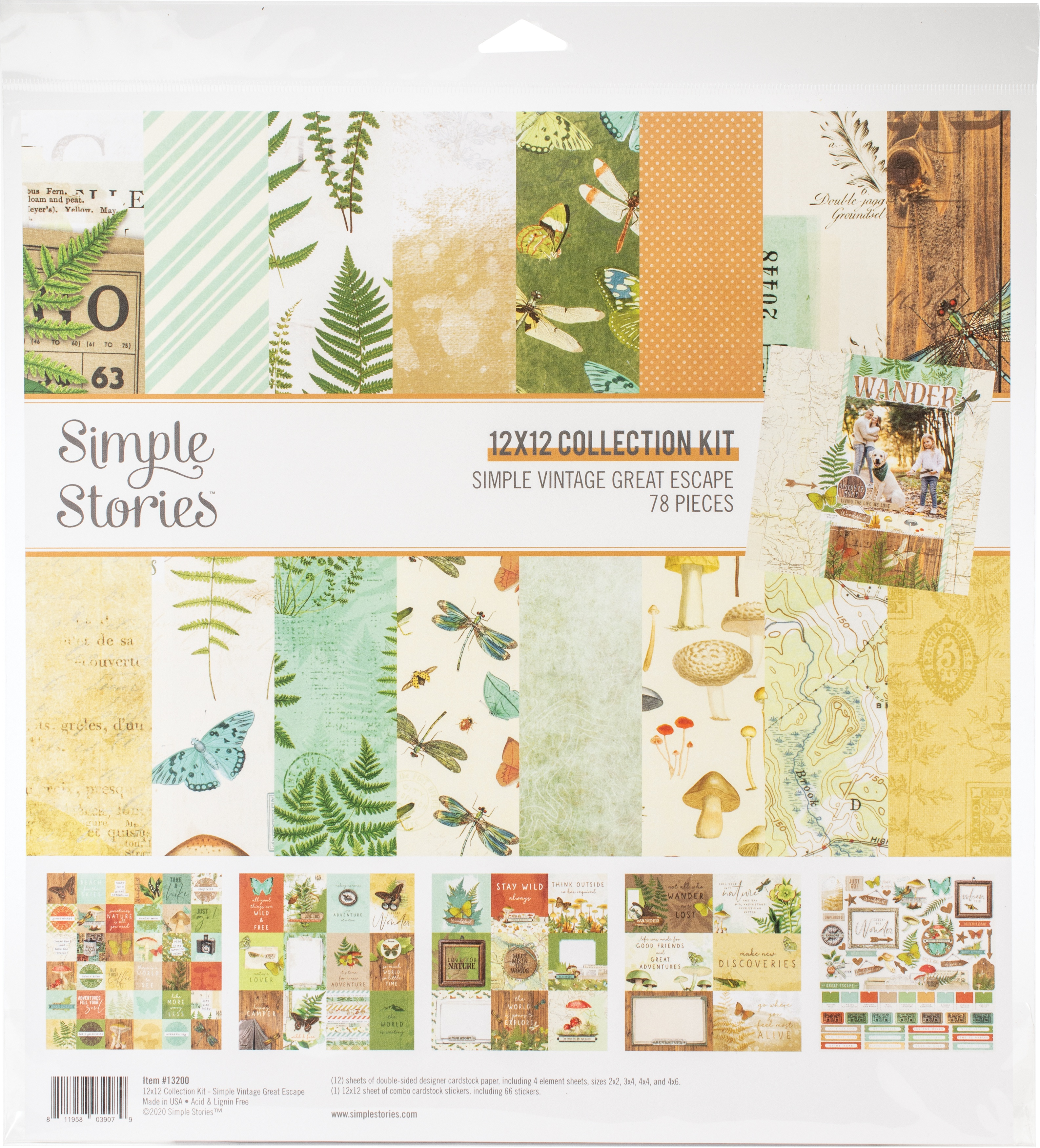 Simple Vintage Great Escape Collection Kit