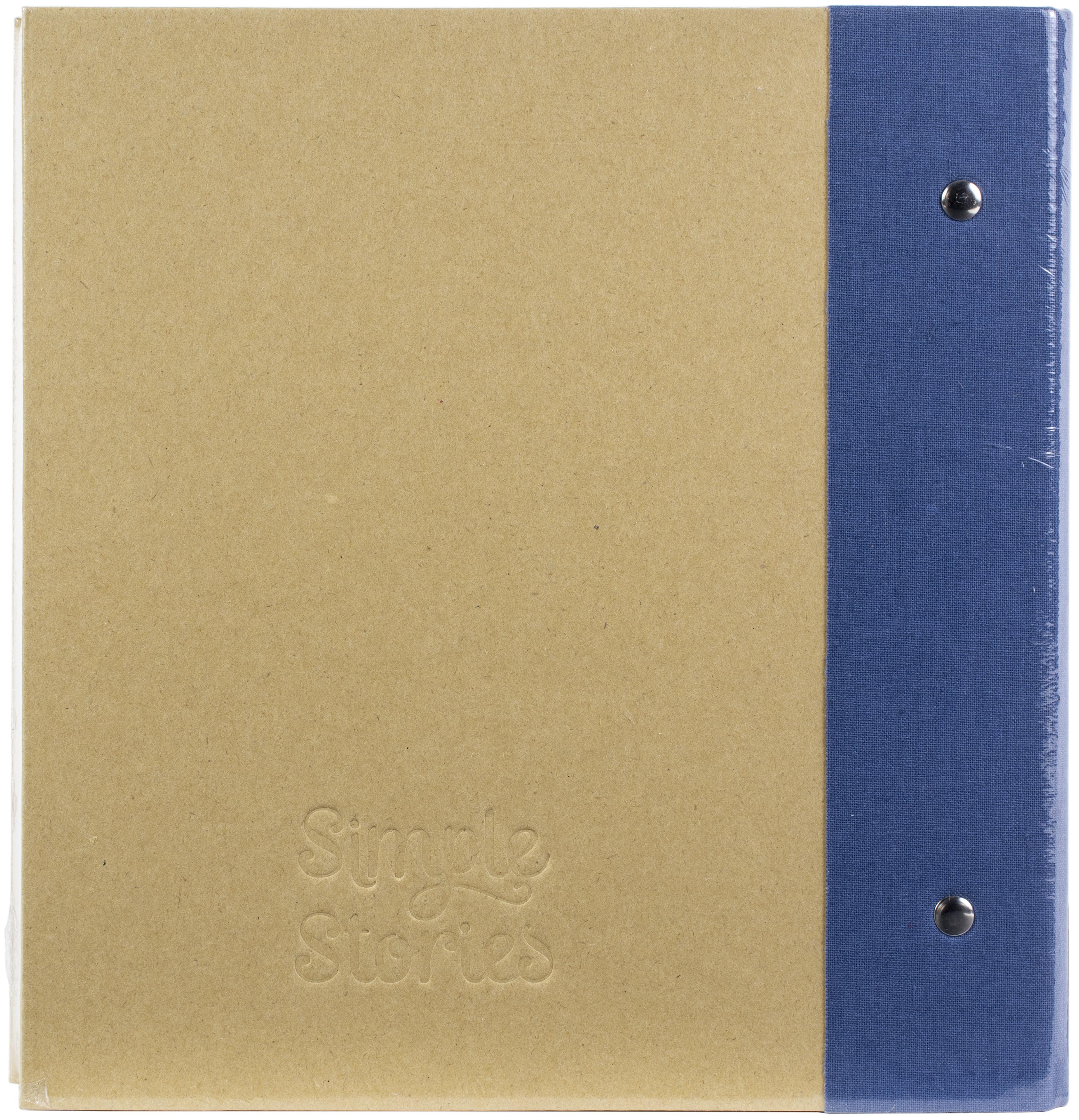 Simple Stories Sn@p! Binder 6X8-Navy