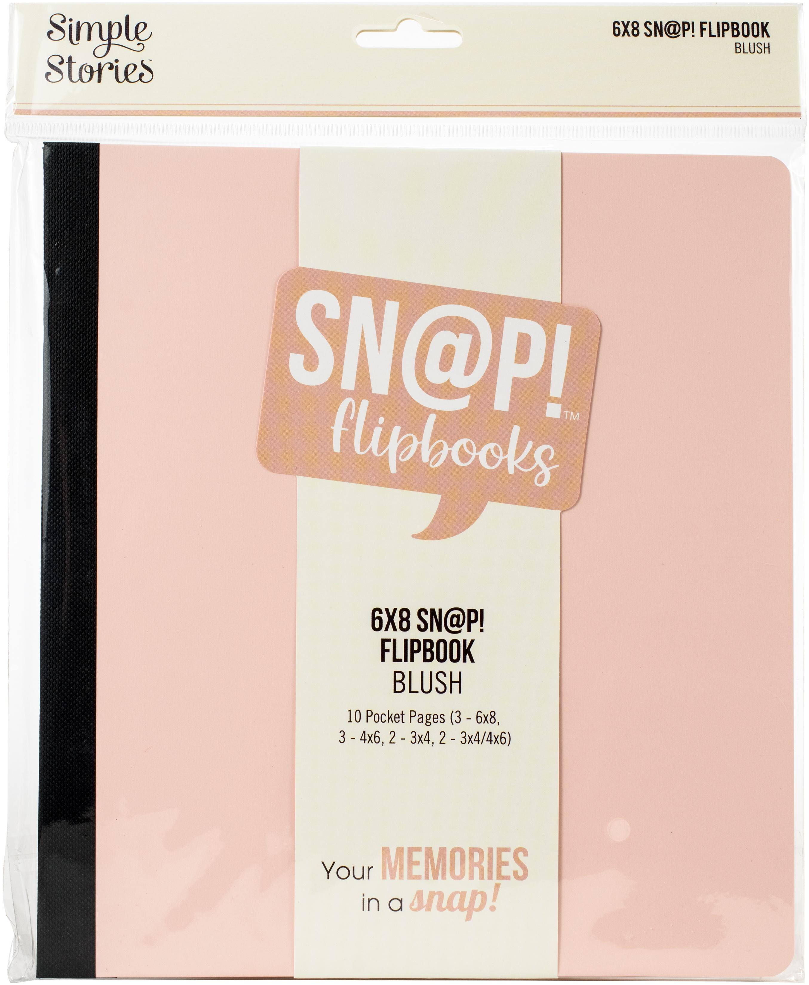 Sn@p! Flipbook 6X8 - Blush