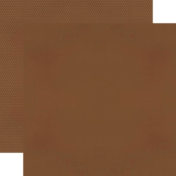 Simple Stories Color Vibe Double-Sided Cardstock 12X12-Brown Basics