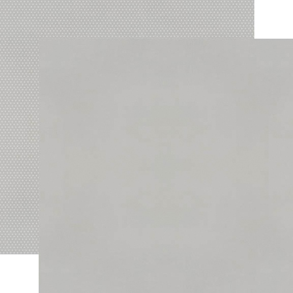 Simple Stories Color Vibe Double-Sided Cardstock 12X12-Grey Basics
