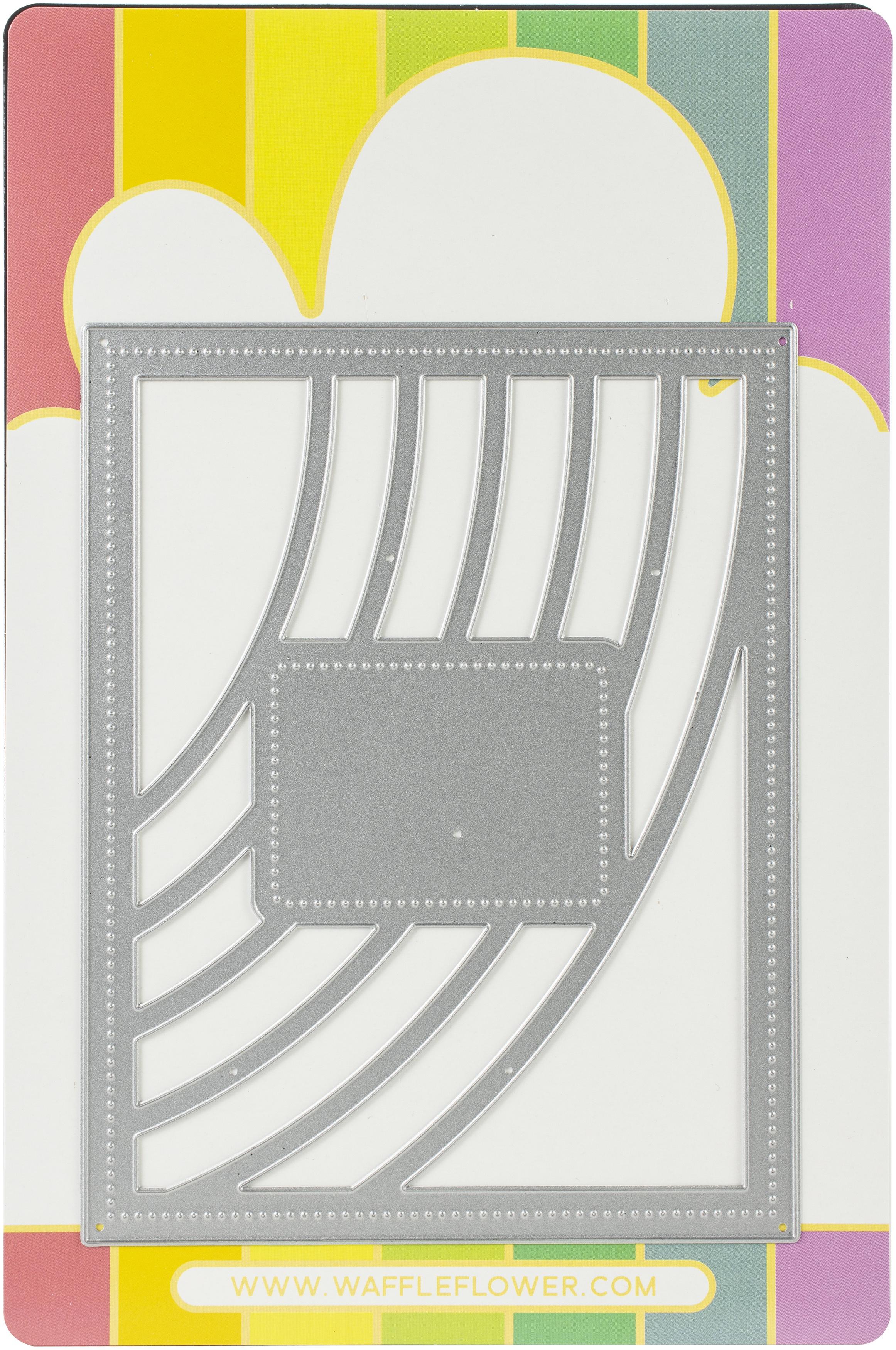 Waffle Flower Die-Fresh Rainbow Panel