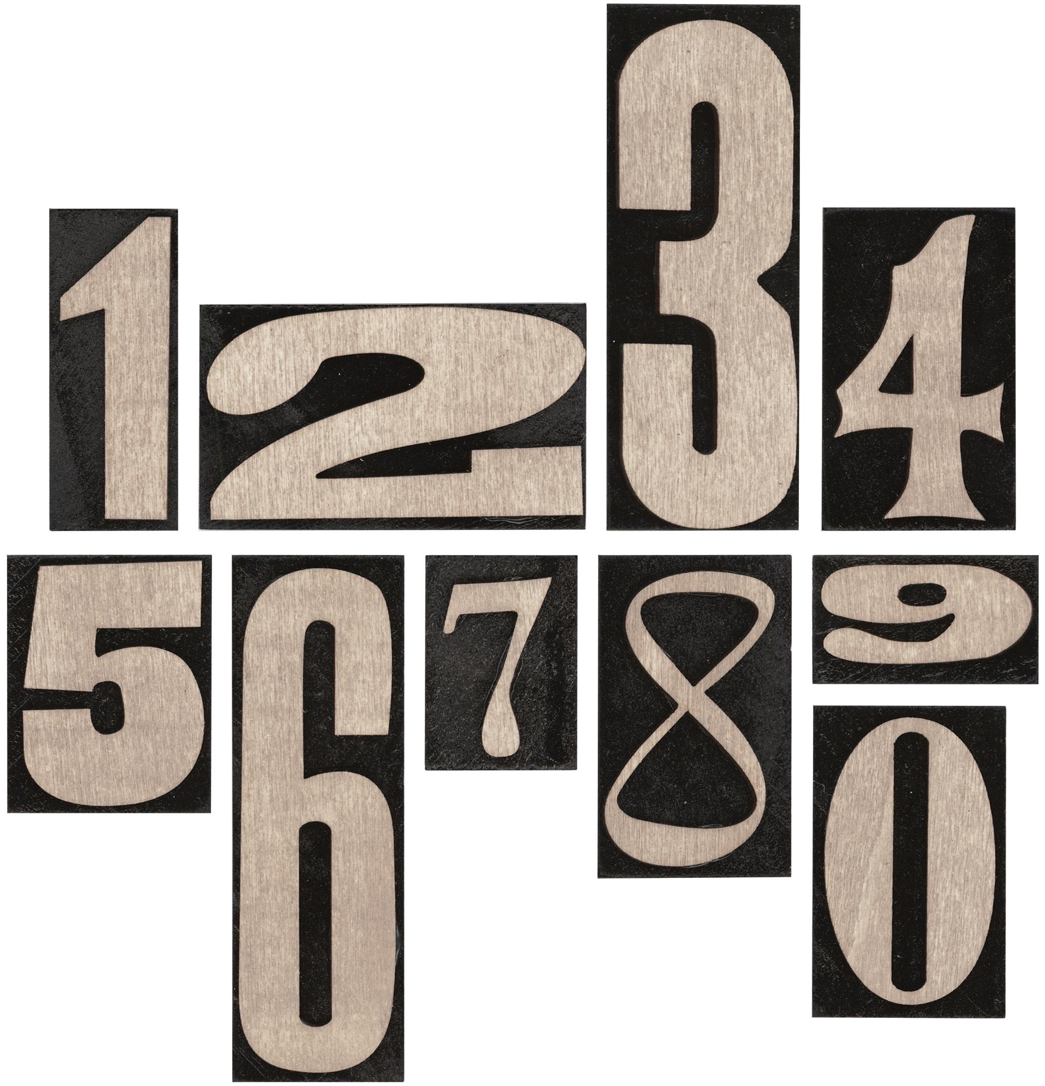 Idea-Ology Number Blocks 10/Pkg-