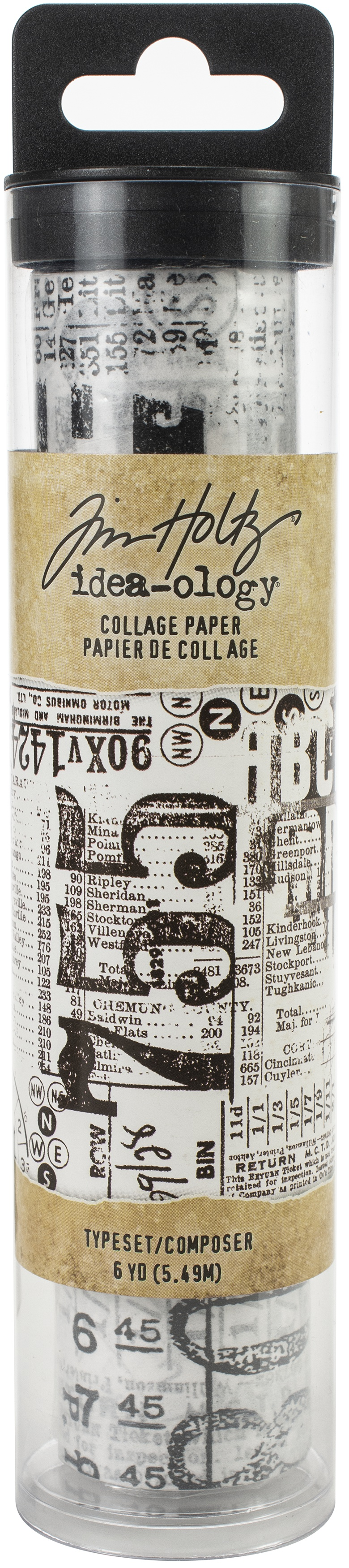 Idea-Ology Collage Paper 5.875X6yd-Typeset
