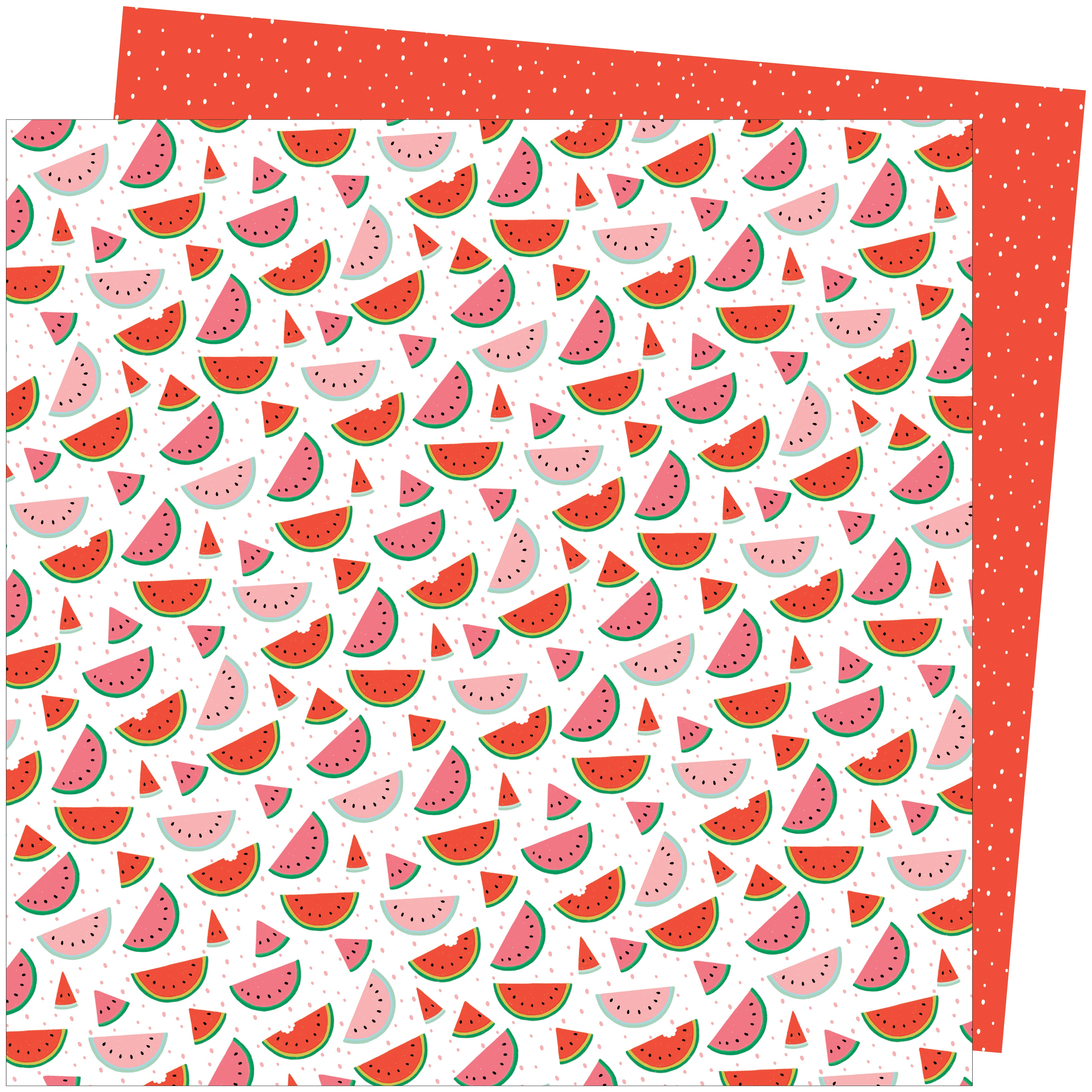 Amy Tan Picnic In The Park Cardstock 12X12-One in a Melon