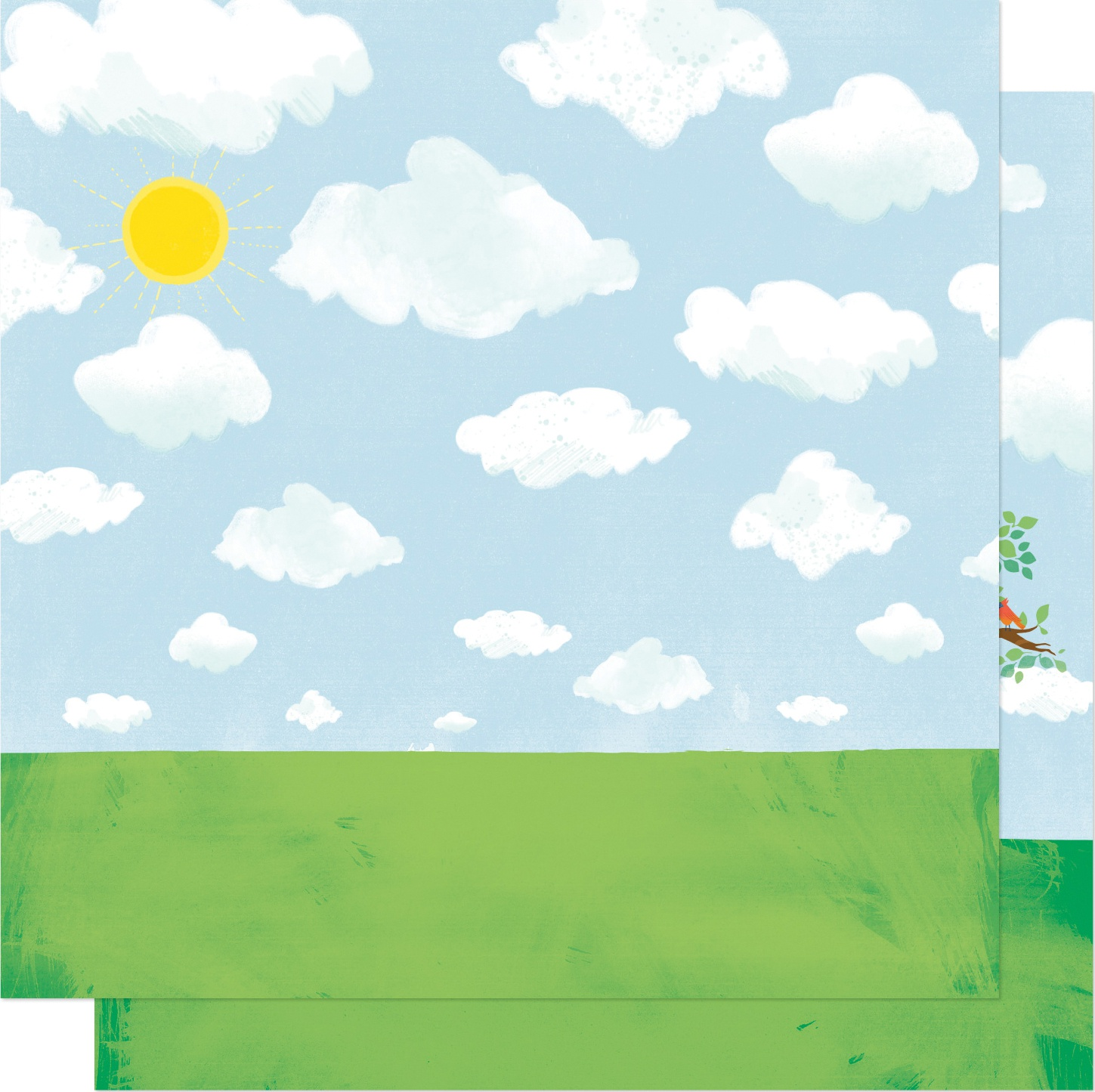 Shimelle Never Grow Up Double-Sided Cardstock 12X12-Treehouse Dreams