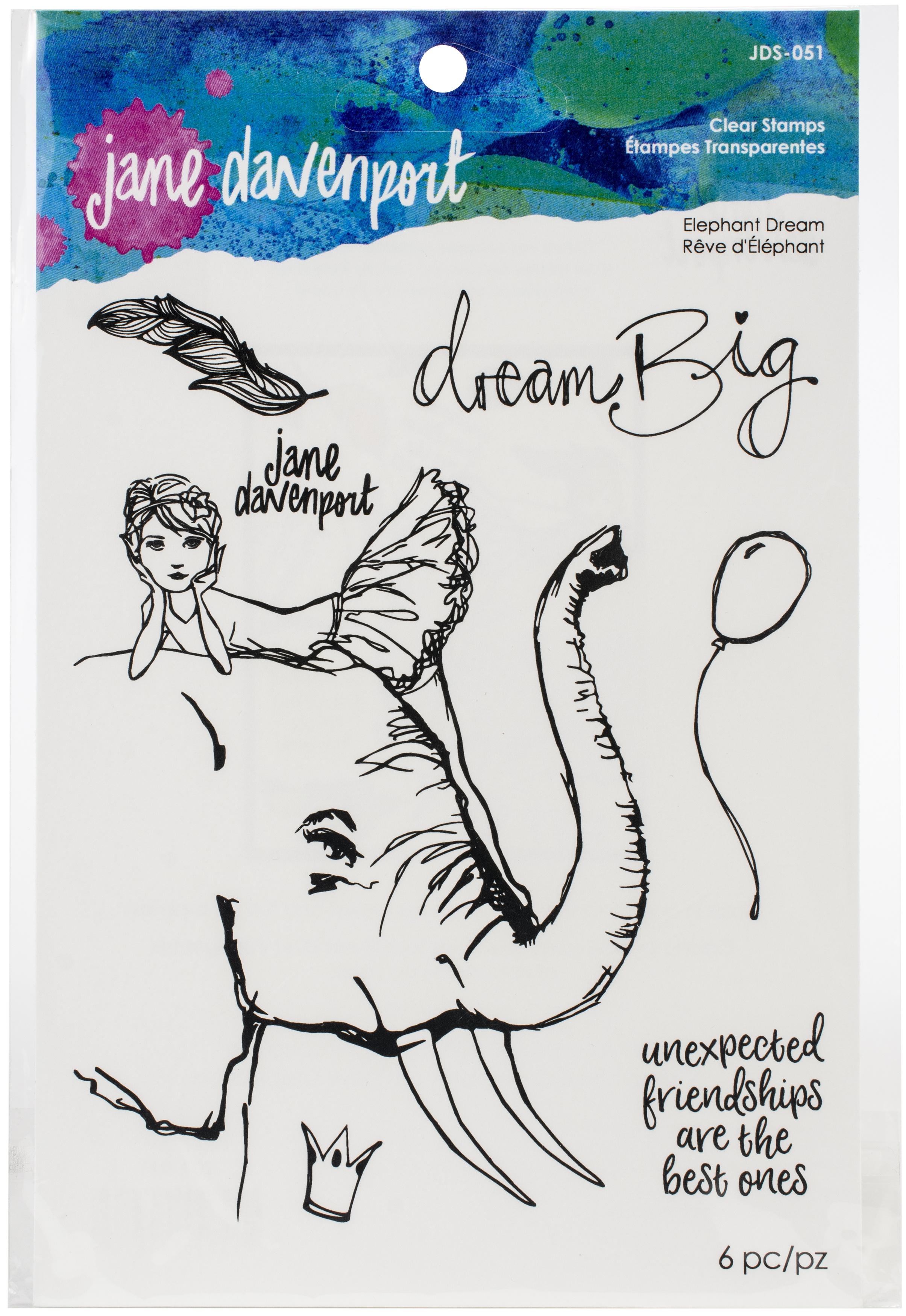 Elephant Dream Stamp Set