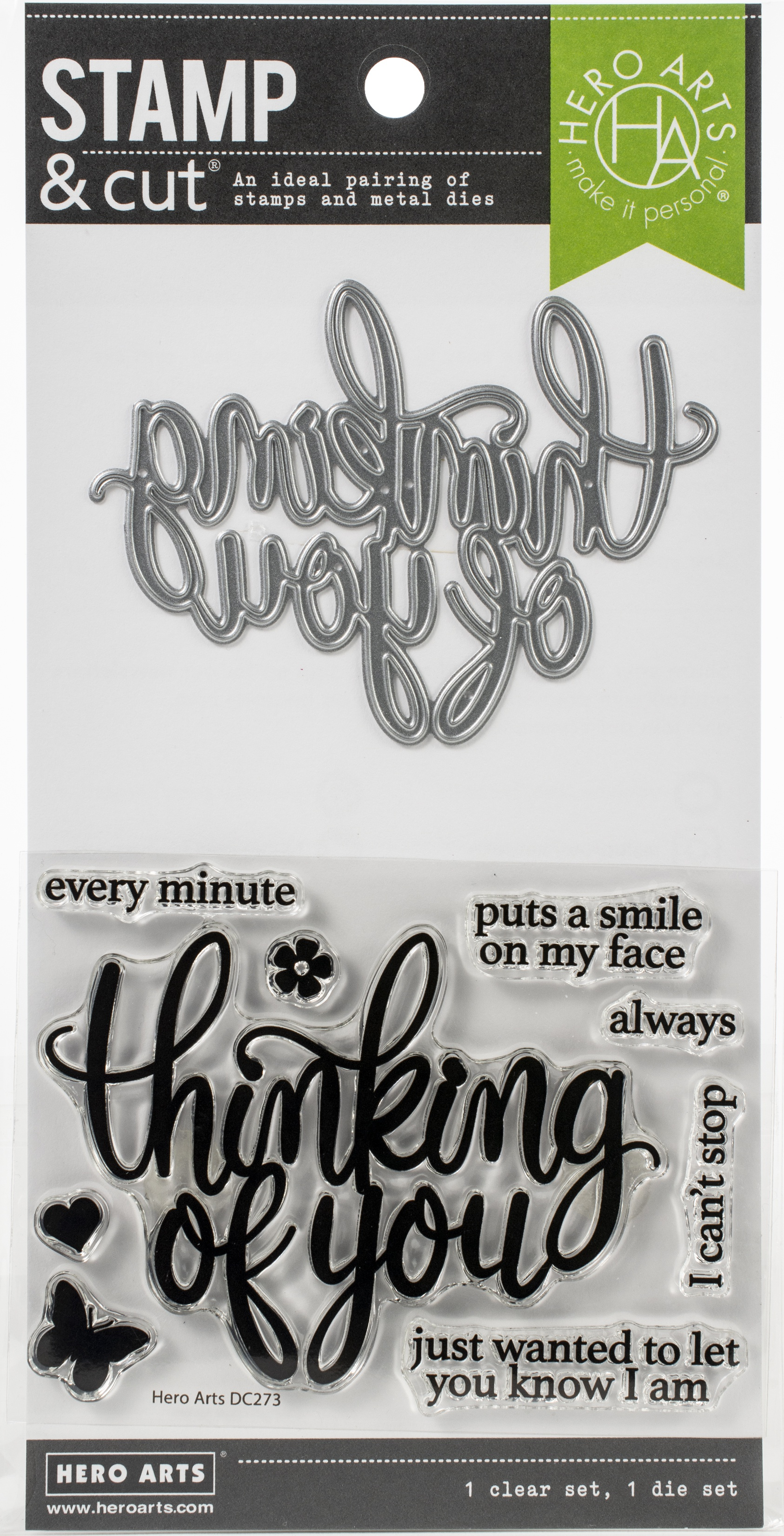 Hero Arts Stamp & Cut - Thinking Of You
