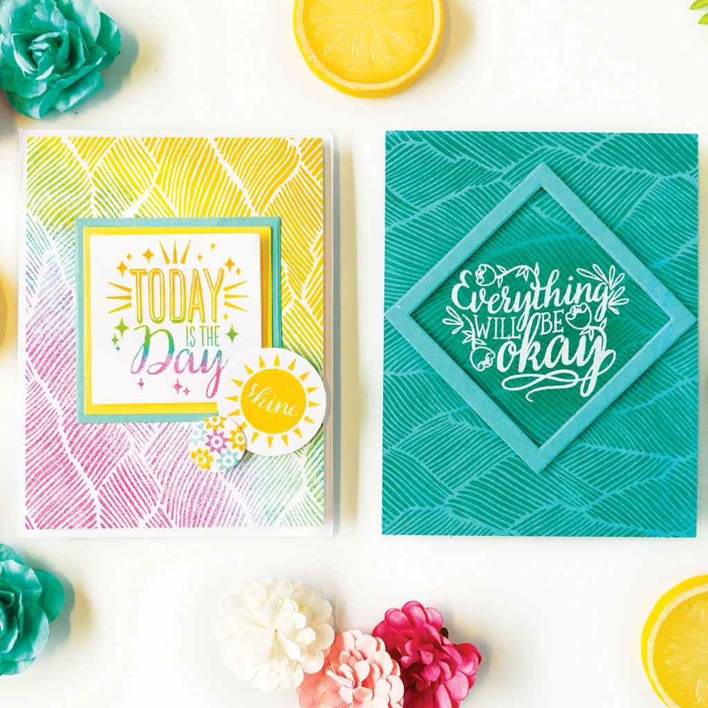 Hero Arts Clear Stamps 4X6-Affirmation Messages